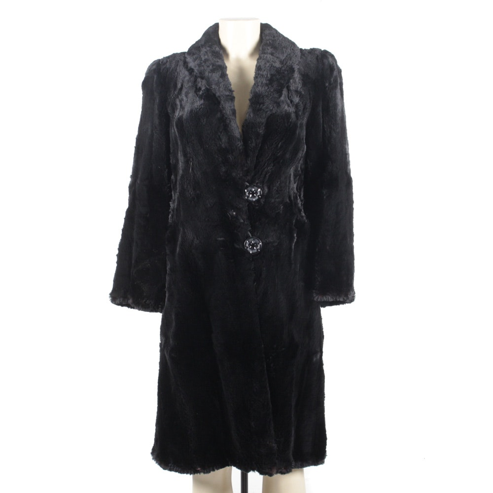 Sheered Beaver Coat by the Union