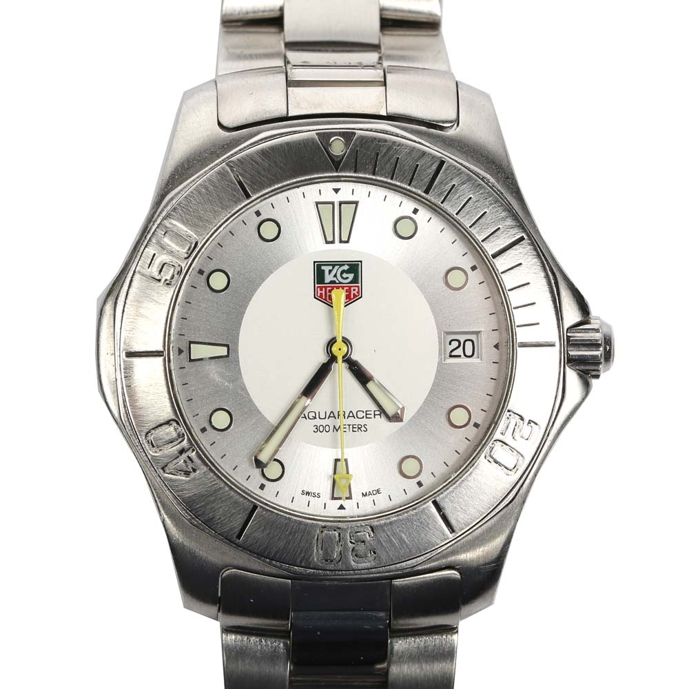 TAG Heuer Stainless Steel Aqua Racer Wristwatch