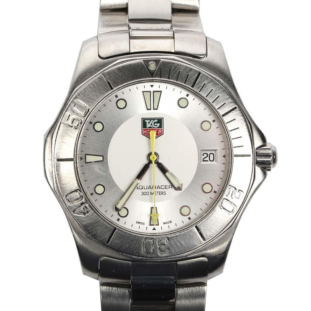 TAG Heuer Stainless Steel Aqua Racer Wristwatch