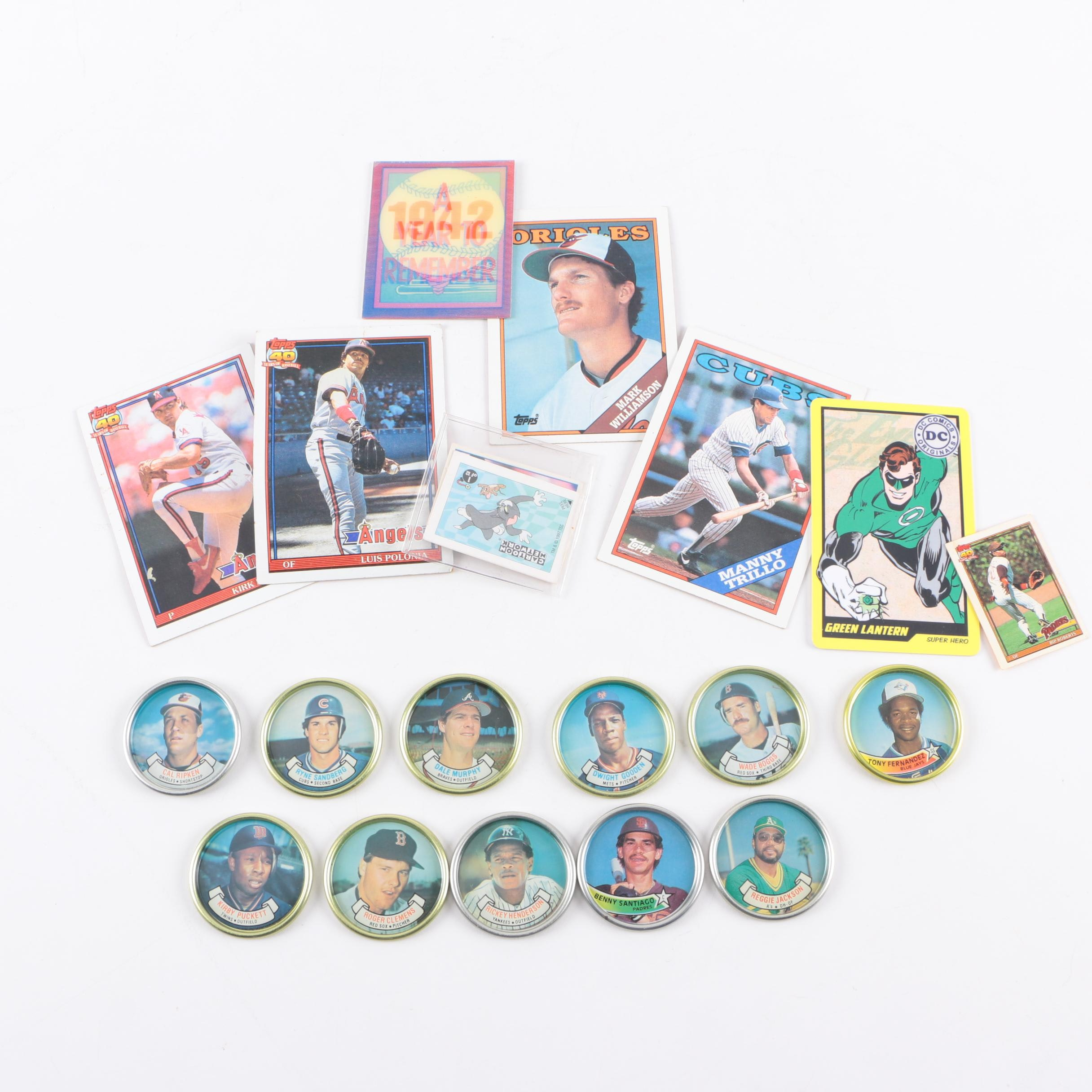Baseball Cards and Topps Coins