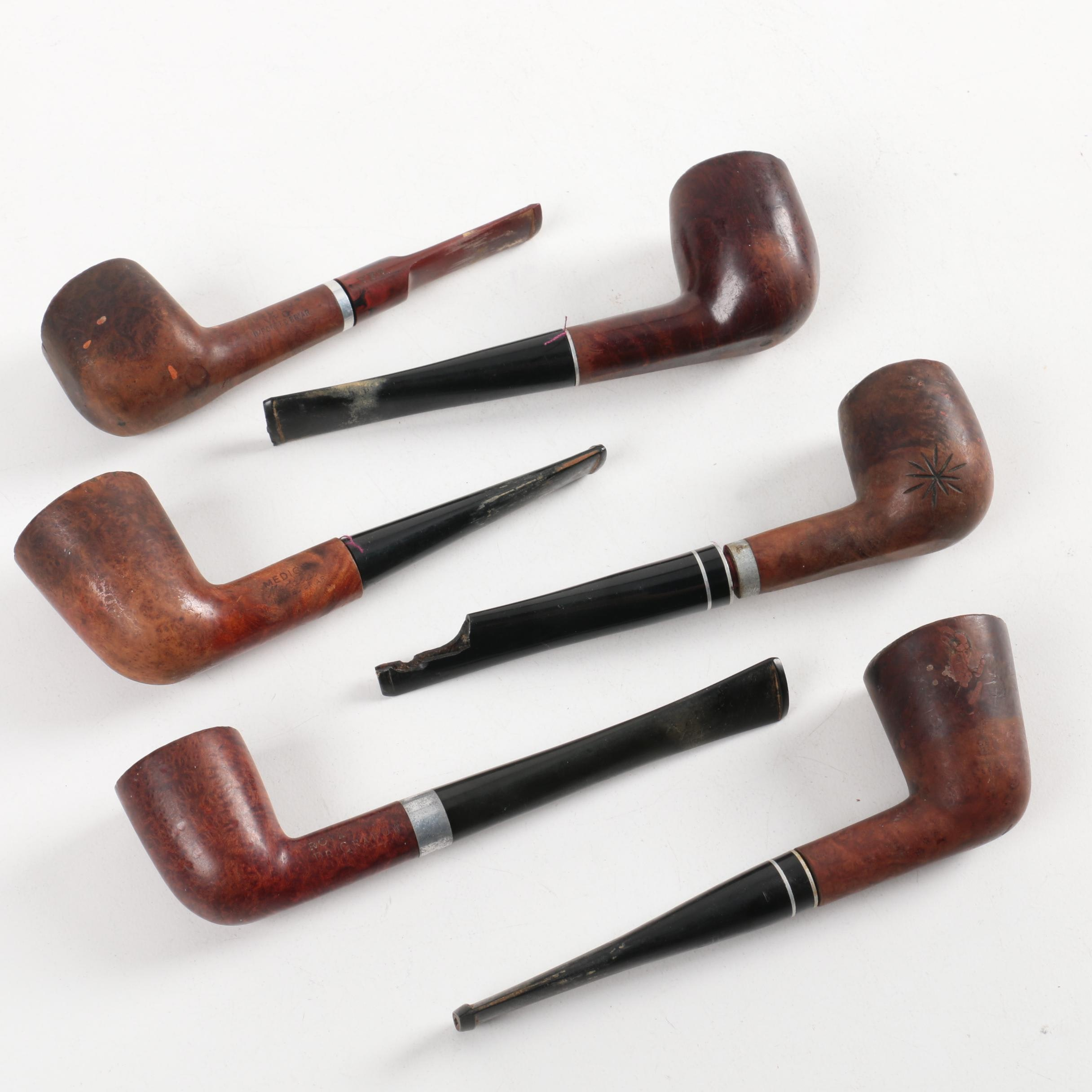 Vintage Briar Tobacco Pipes