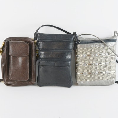 Three Cross Body Handbags