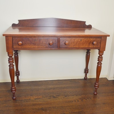 Cherry Stained Writing Desk