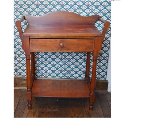 Cherry Stained Wash Stand