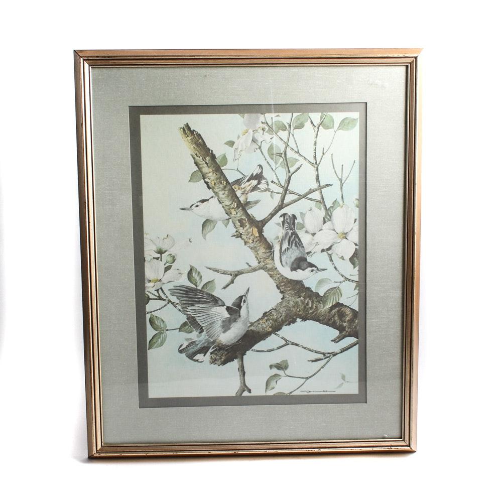 Framed Lithographs