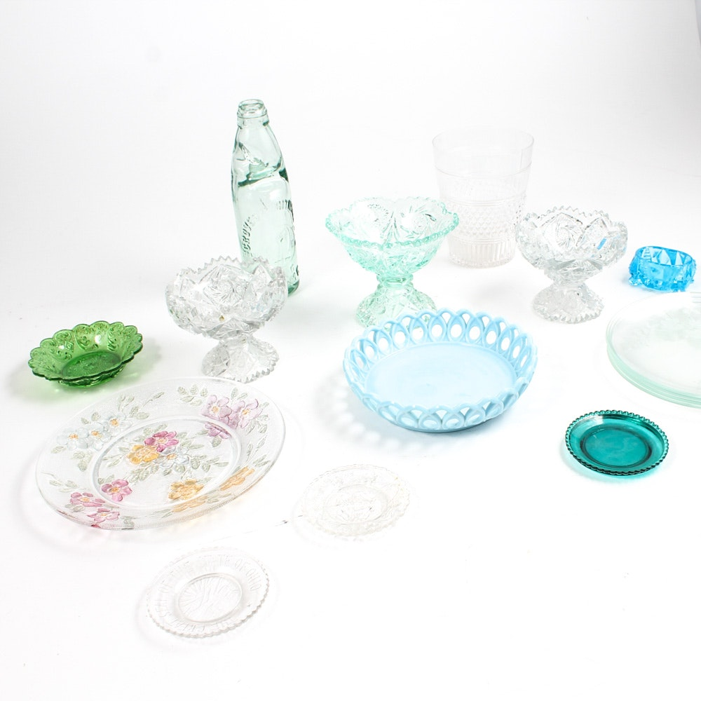 Eclectic Glass Piece Collection