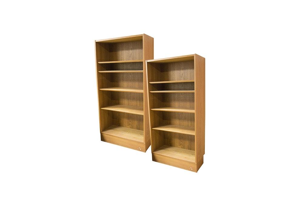 Pair of Danish Modern Teak Bookshelves by Hundevad