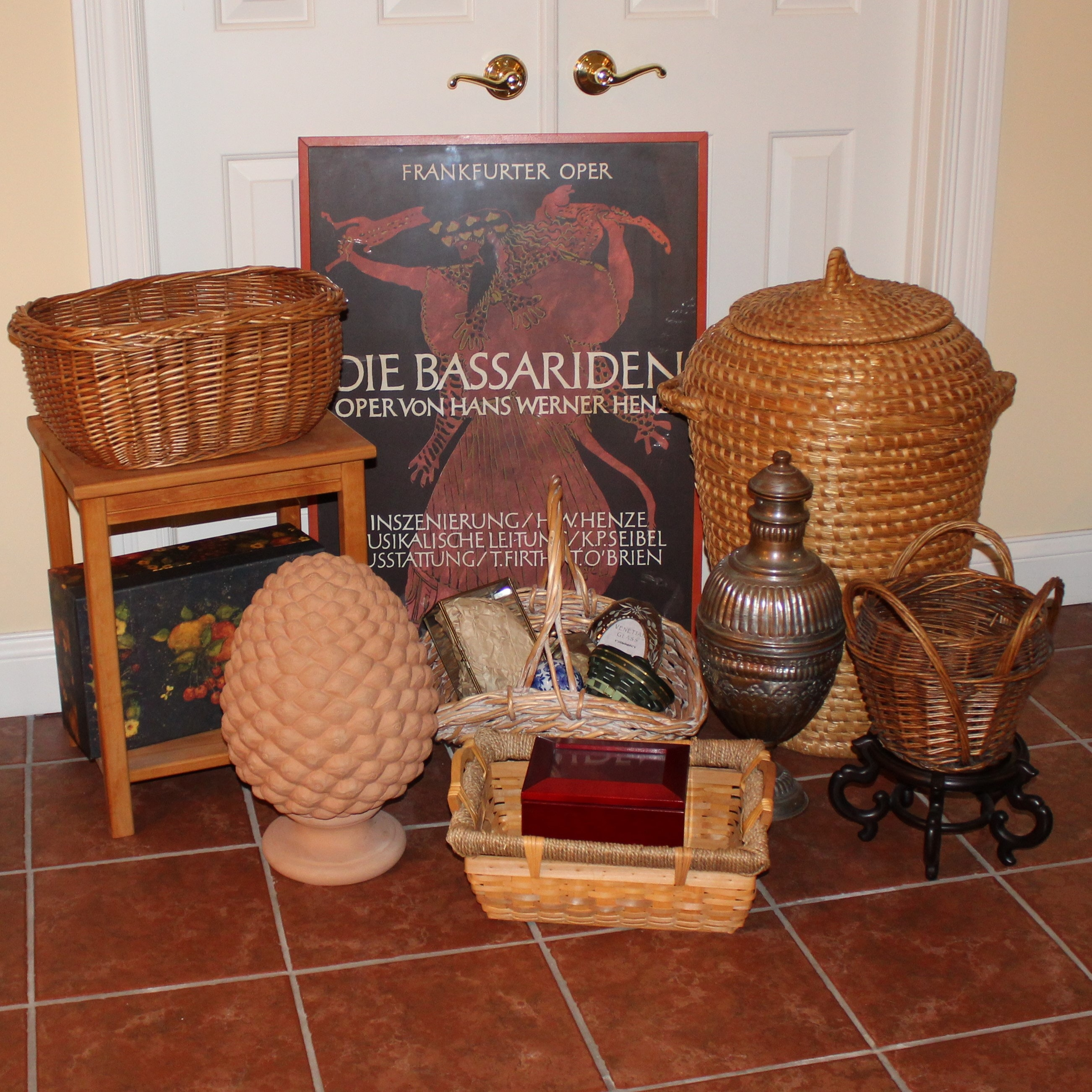 Baskets and Home Decor
