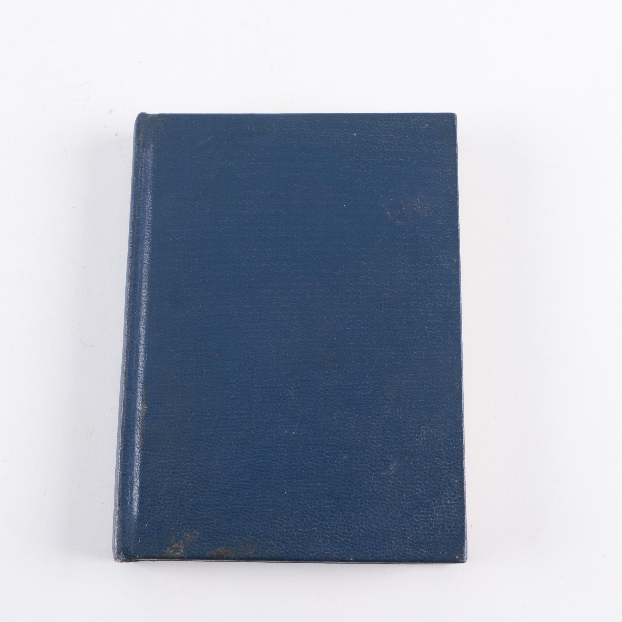 1926 Masonic Ritual Book