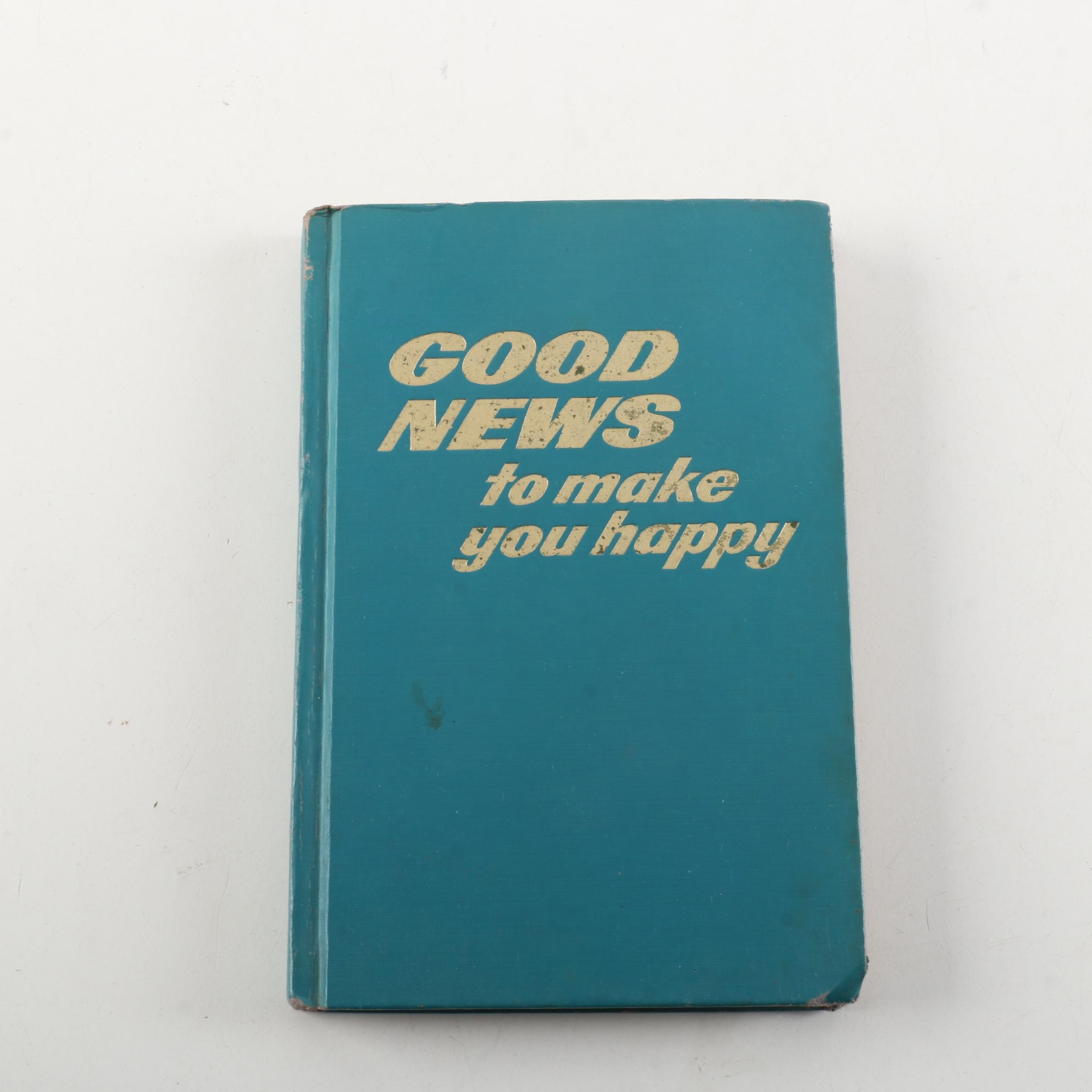 "1976 Watch Tower Tract ""Good News to Make You Happy"""