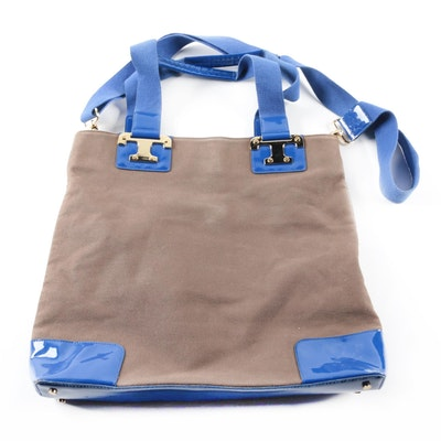 0485df30e5f0 Vintage Coach Barclay Brown Leather Tote. Final Bid.  325. Ended. Tory  Burch Canvas Tote Bag