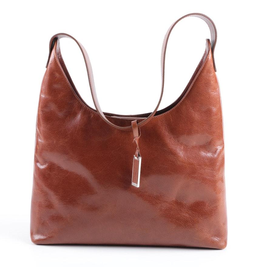 4029e9cd42b Carolee Brown Leather Handbag   EBTH