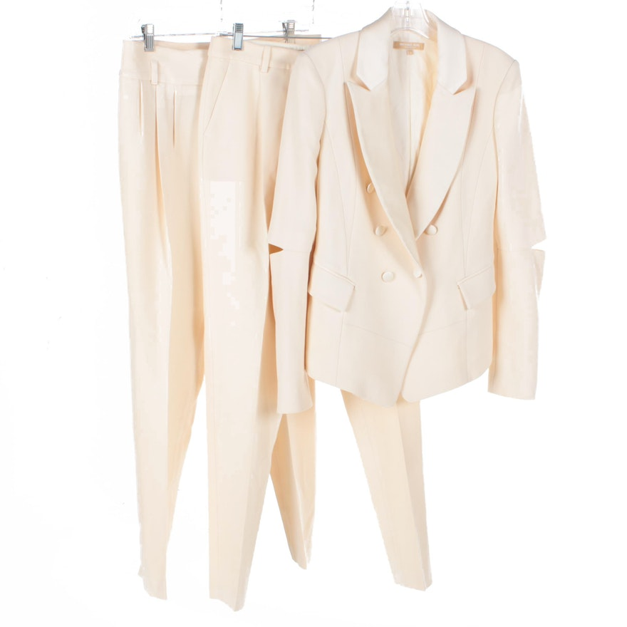 dfae7b98 Women's Michael Kors Split Sleeve Jacket and Pants : EBTH
