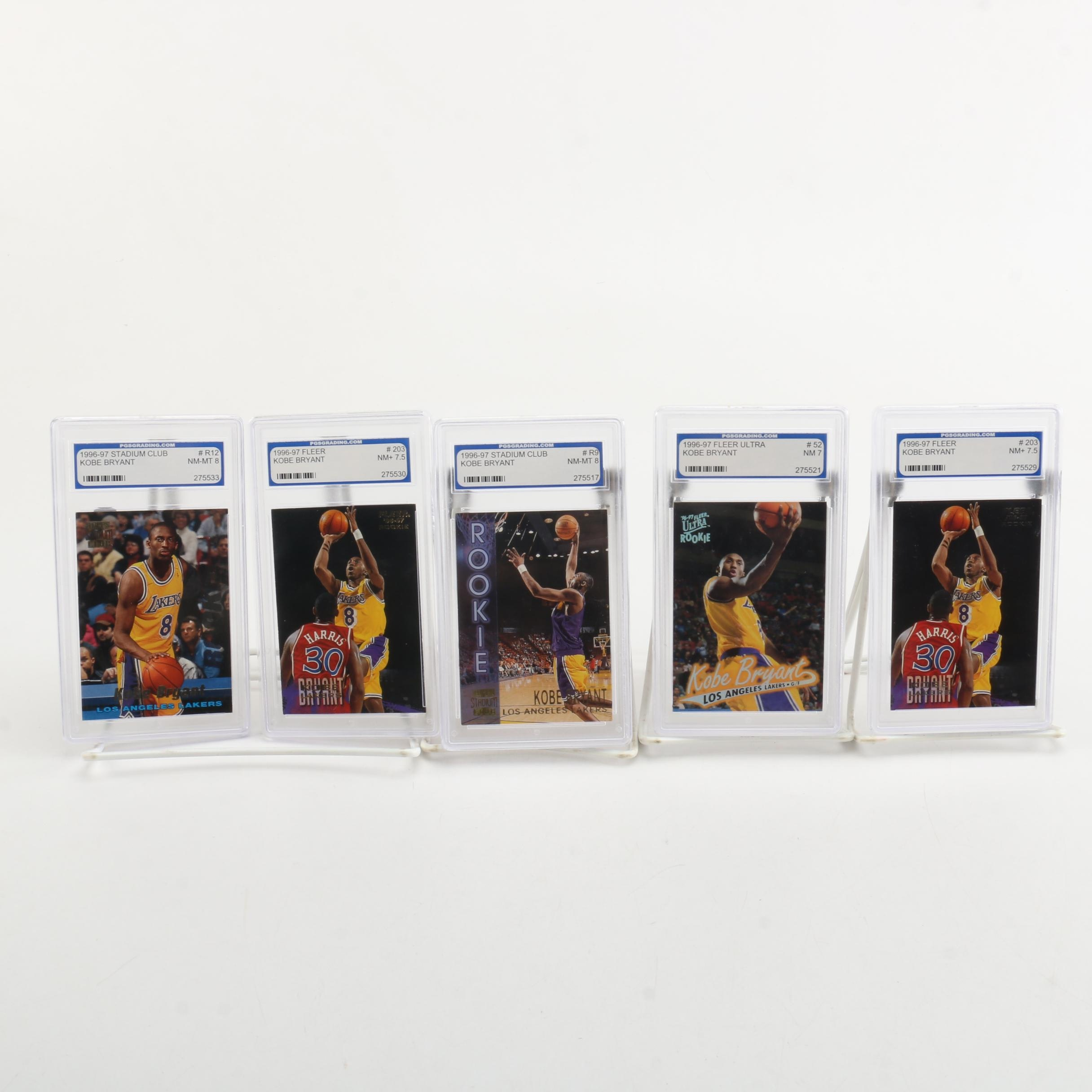 1996-97 Kobe Bryant Basketball Cards