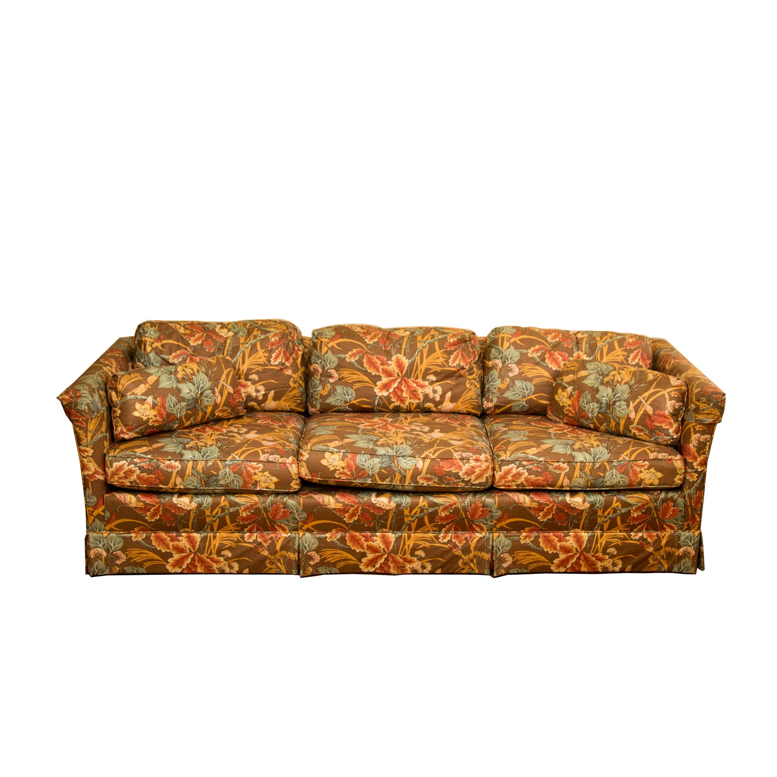 Henredon Upholstered Floral Couch