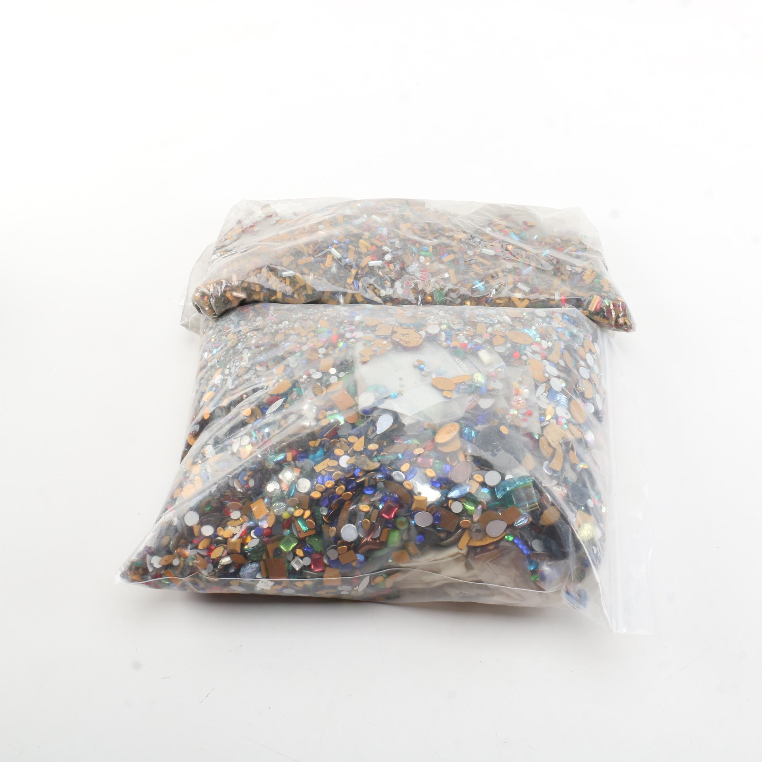 Collection of Loose Rhinestones