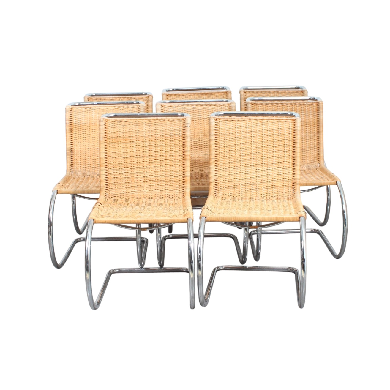 Vintage Danish Modern Stendig Woven Dining Chairs ...