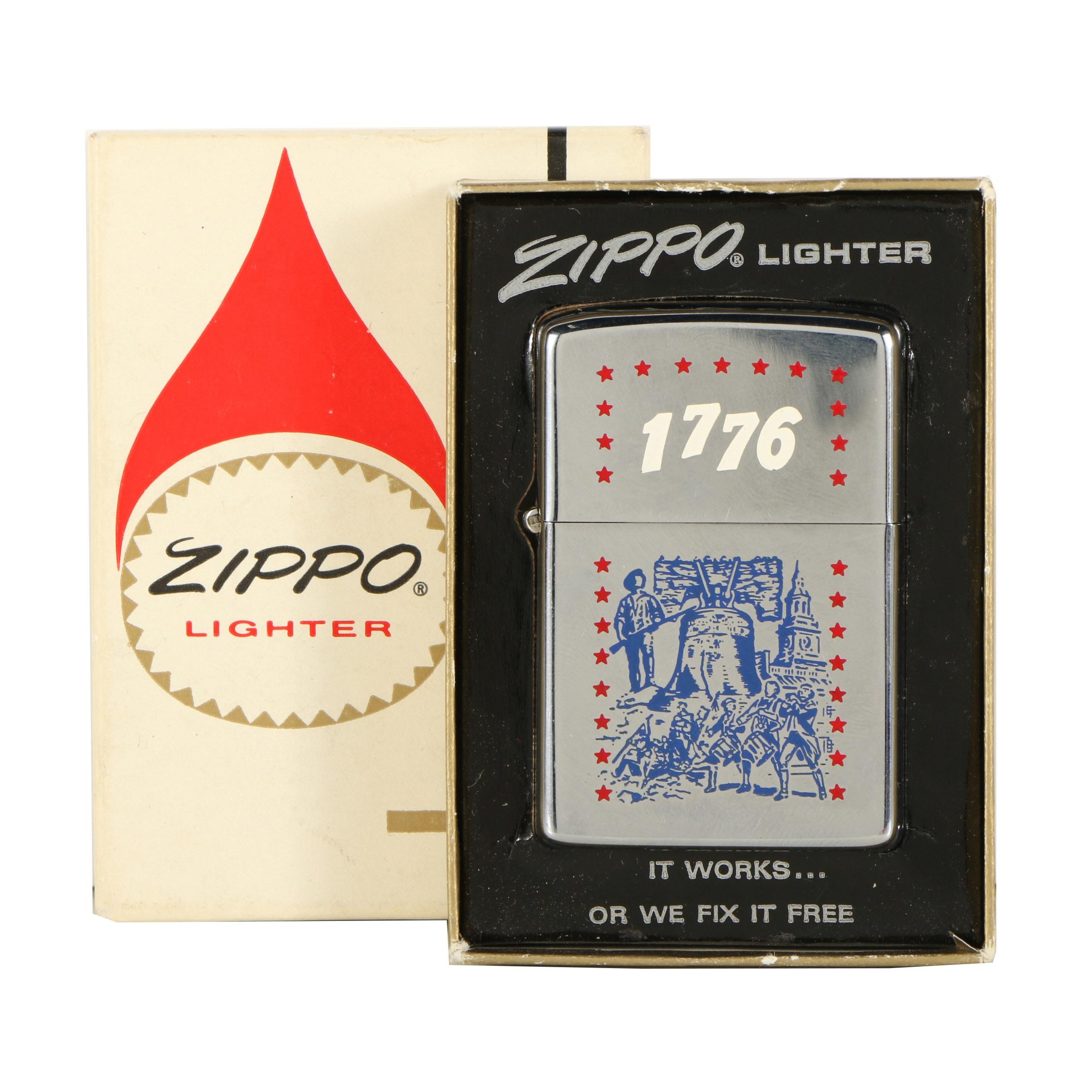 """Zippo Lighter """"1776"""""""