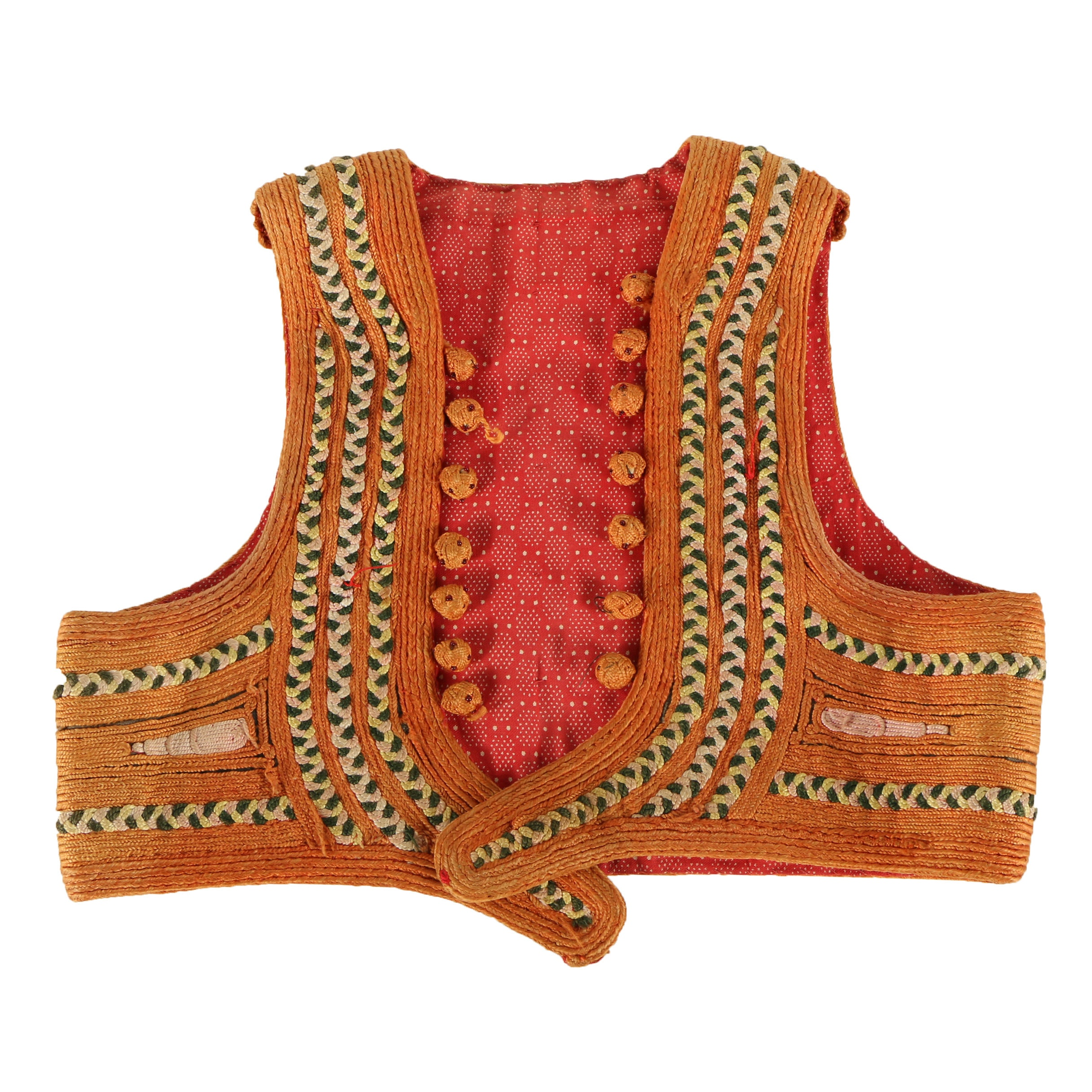 Women's Early 20th Century Turkish Yelek Vest