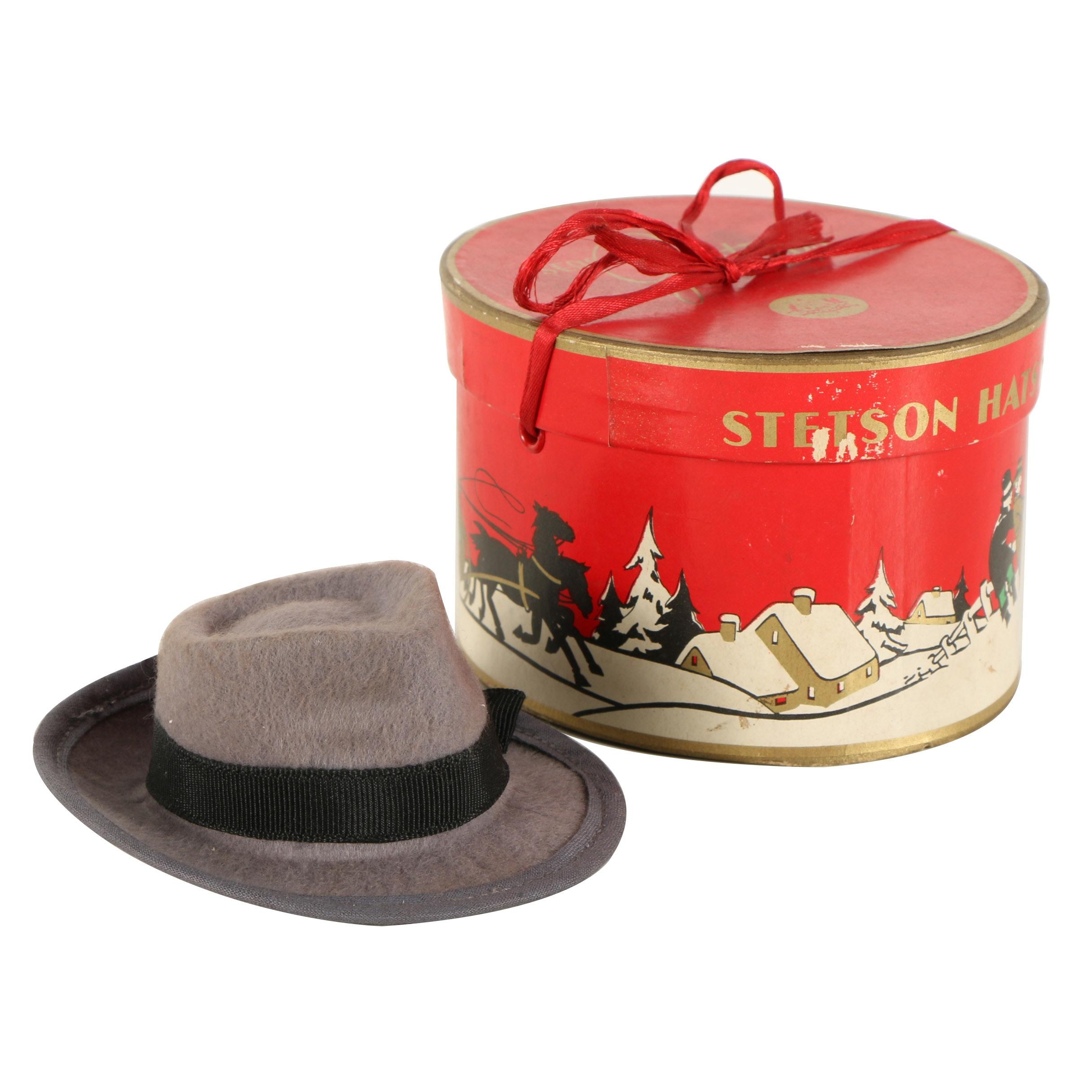 Stetson Salesman Sample Miniature Hat