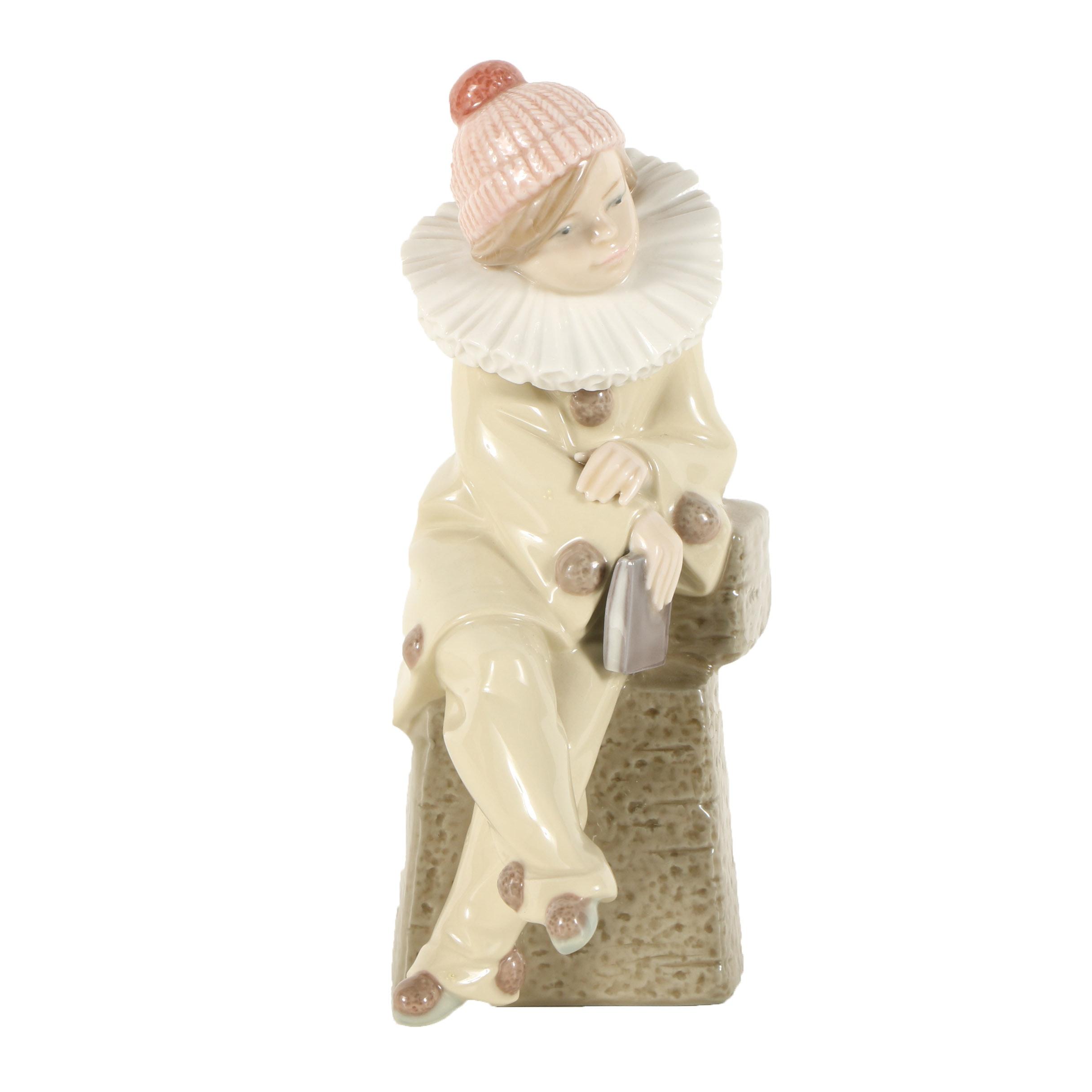 "Lladró Porcelain Figurine ""Little Jester"""