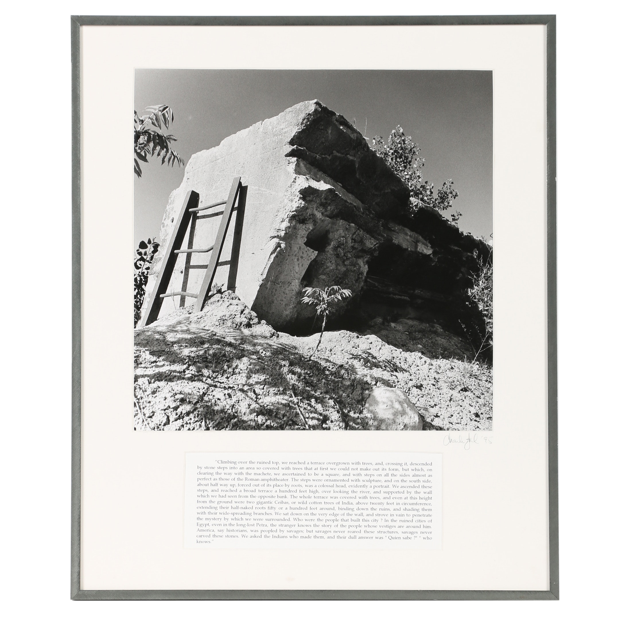 Charles Agel Silver Gelatin Photograph