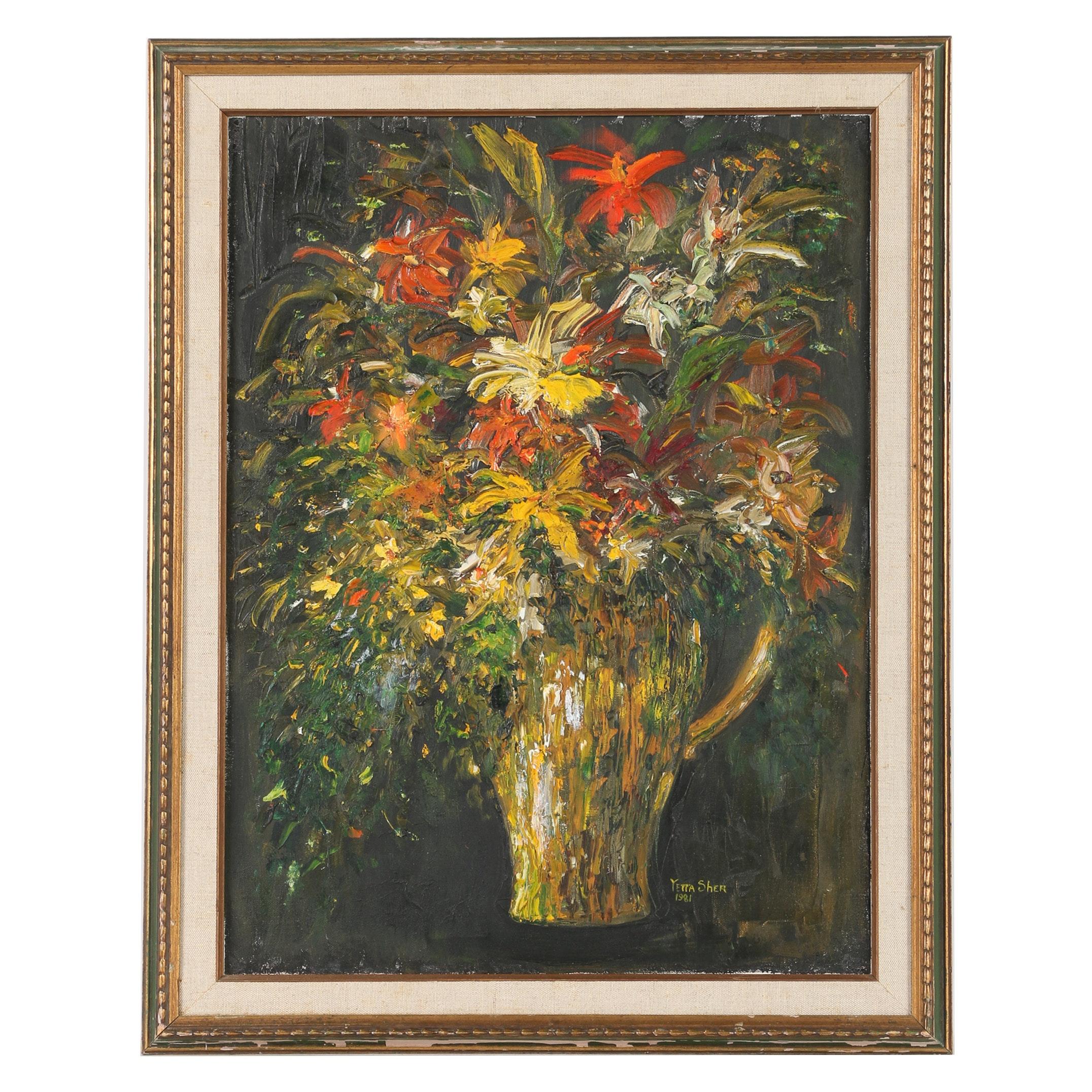 Yetta Sher Oil Painting