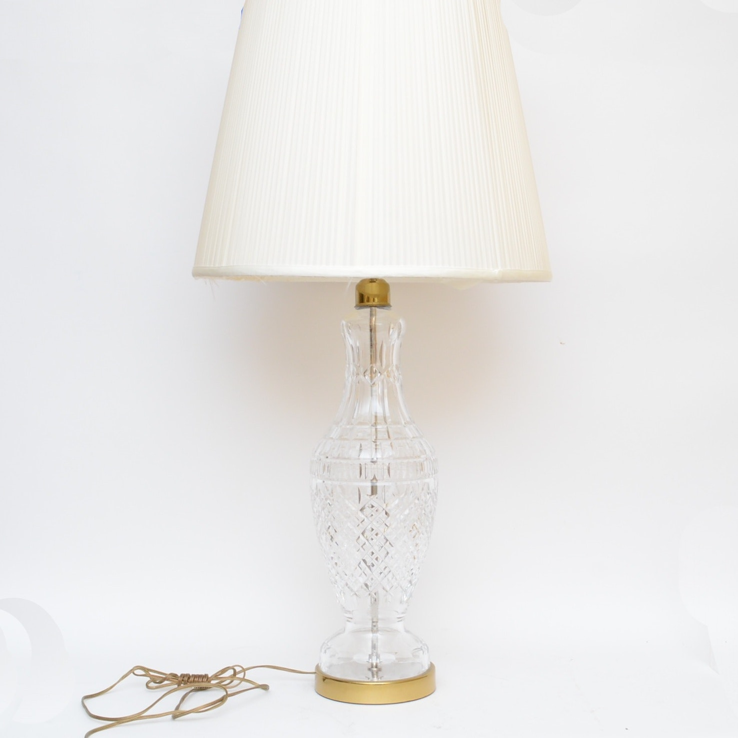 Waterford Crystal Table Lamp ...