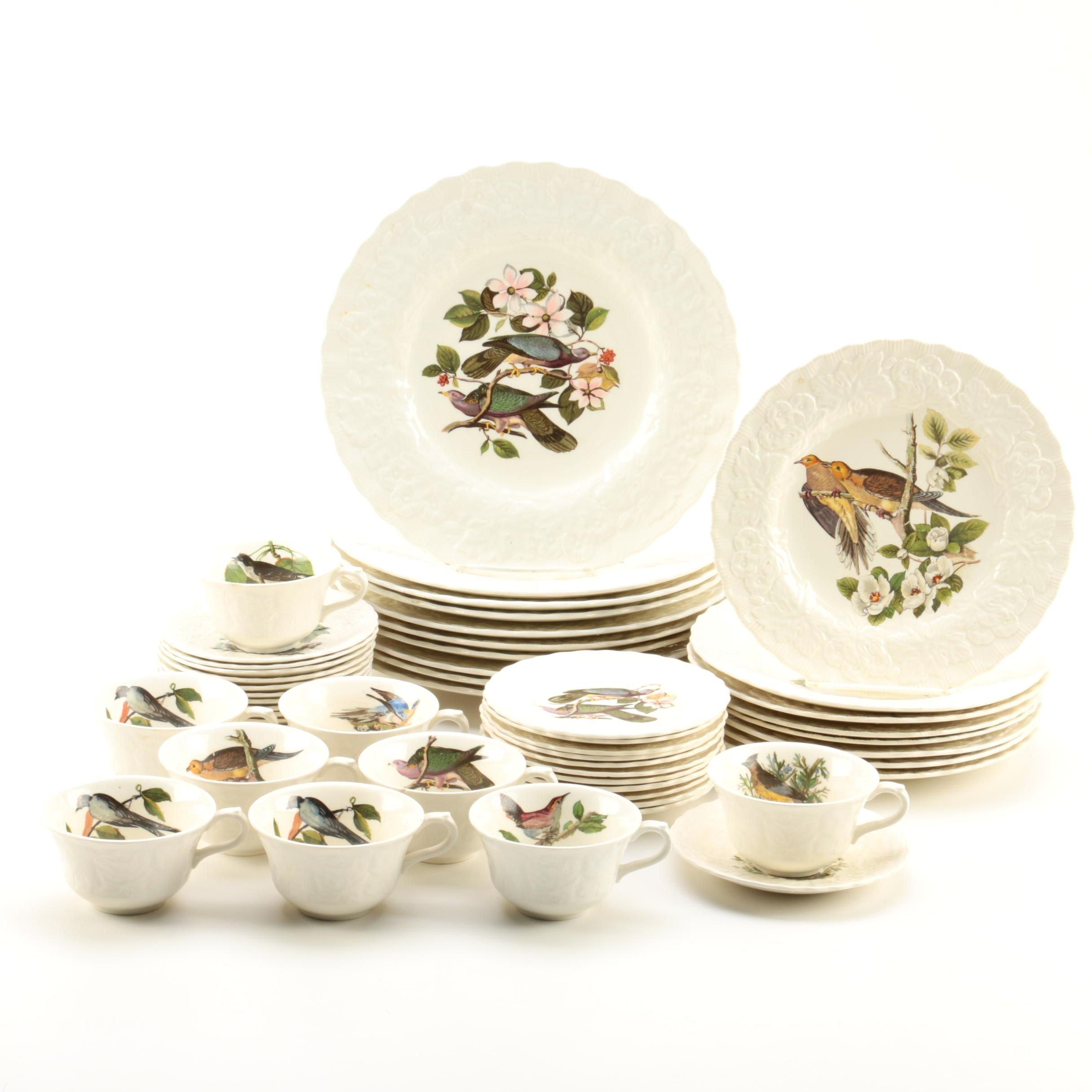 Vintage Alfred Meakin Audubon \ Birds of America\  Dinnerware ...  sc 1 st  EBTH.com & Vintage Alfred Meakin Audubon \