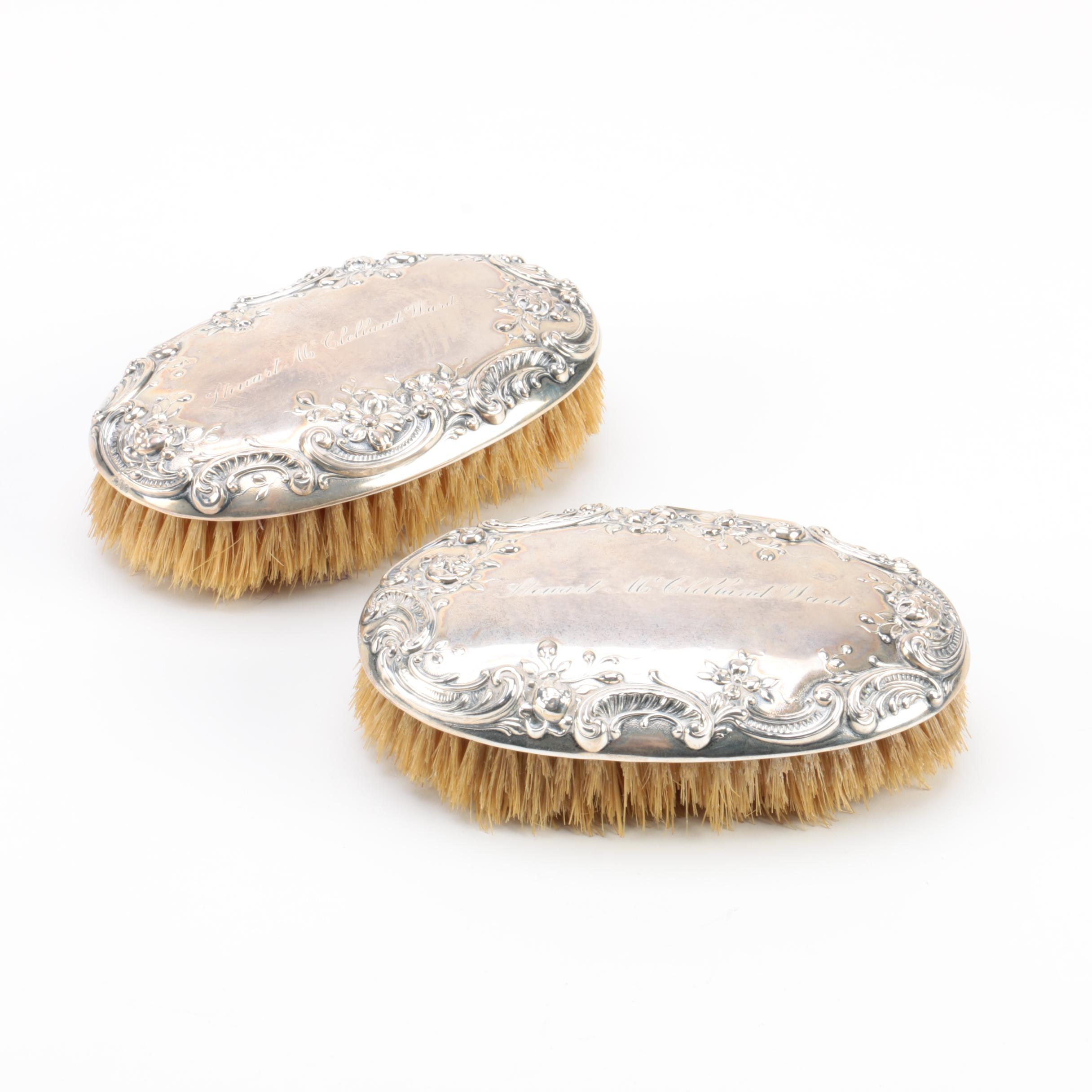 Gorham Sterling Silver Military Brushes