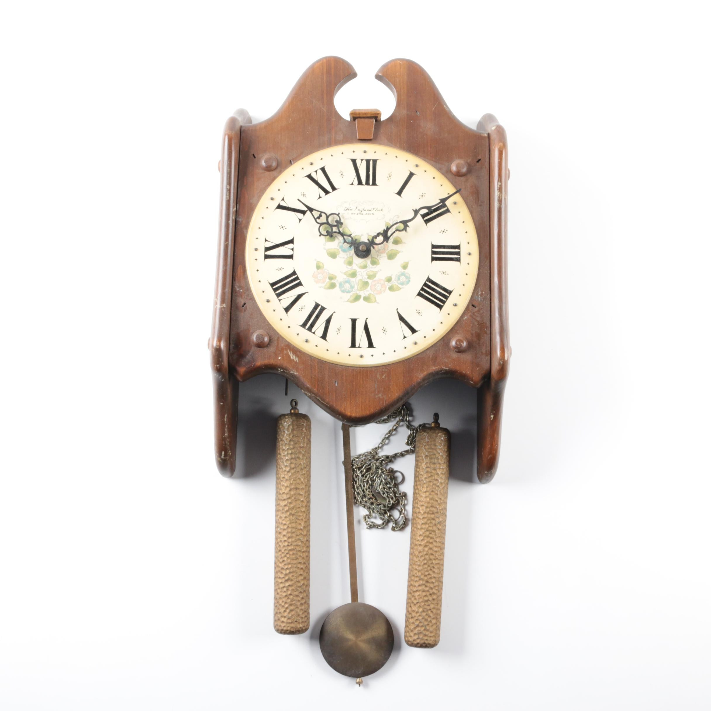 New England Clock Co. Wall Clock