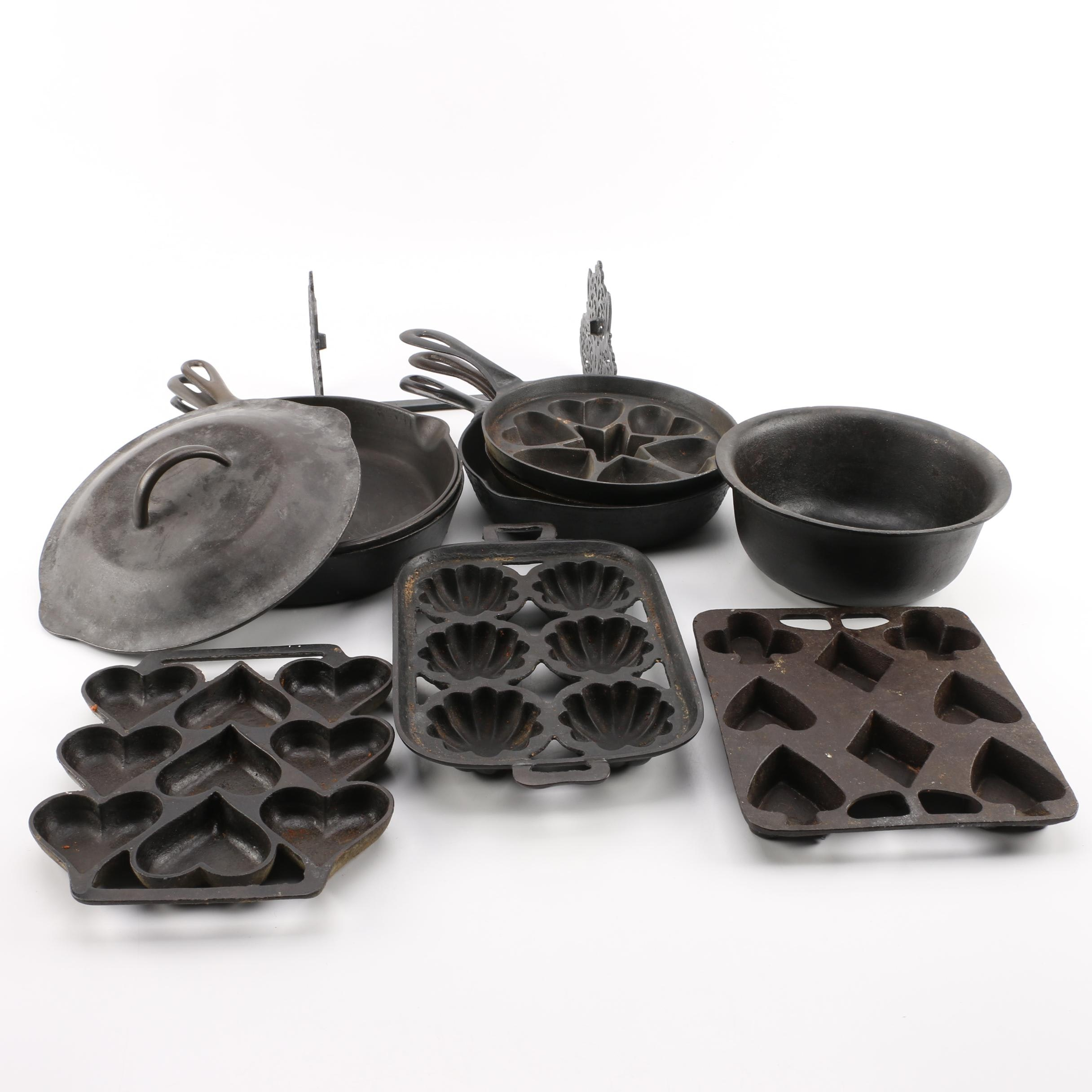 Cast Iron Cookware and Bakeware