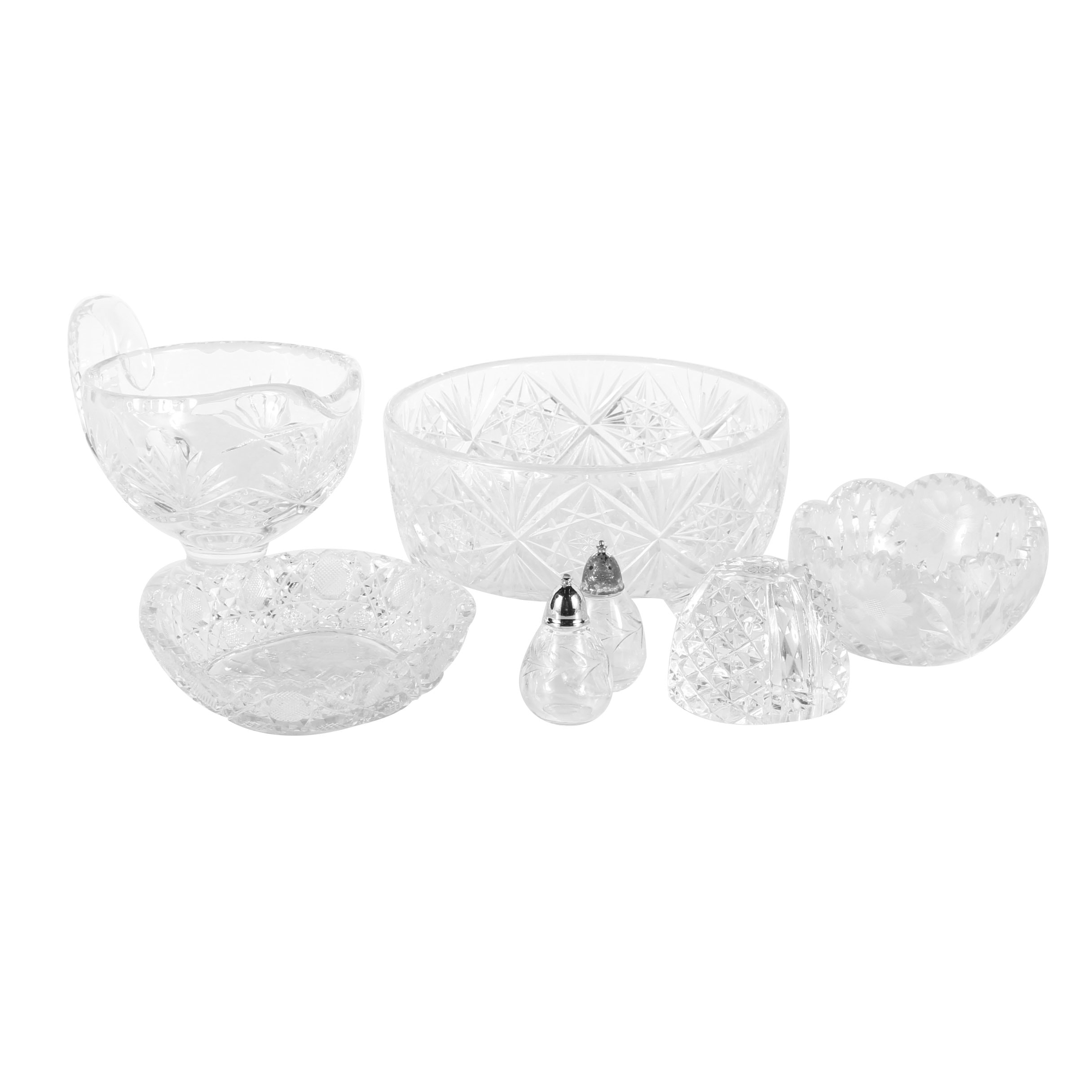 Pressed Glass Table Ware