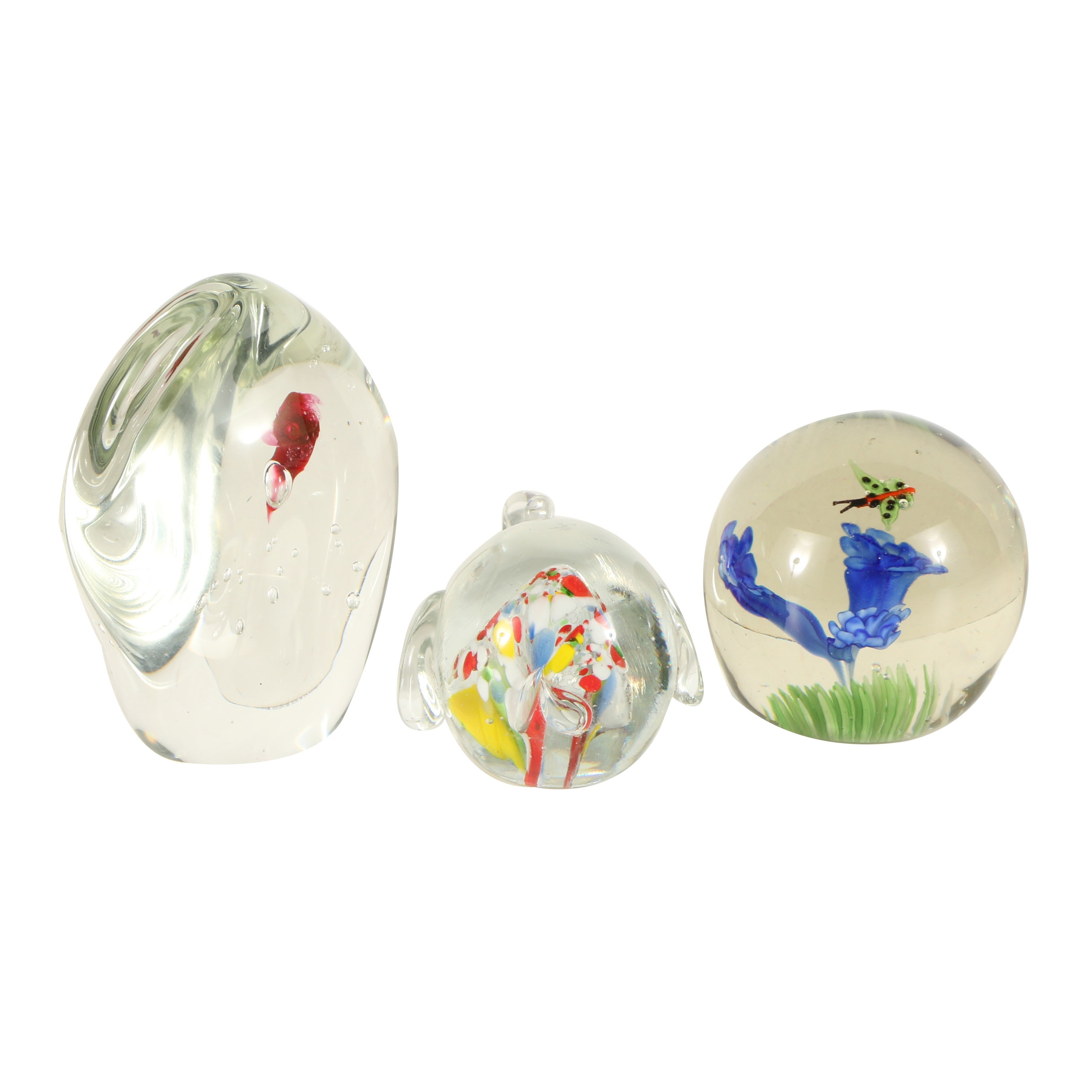 Decorative Glass Paperweights