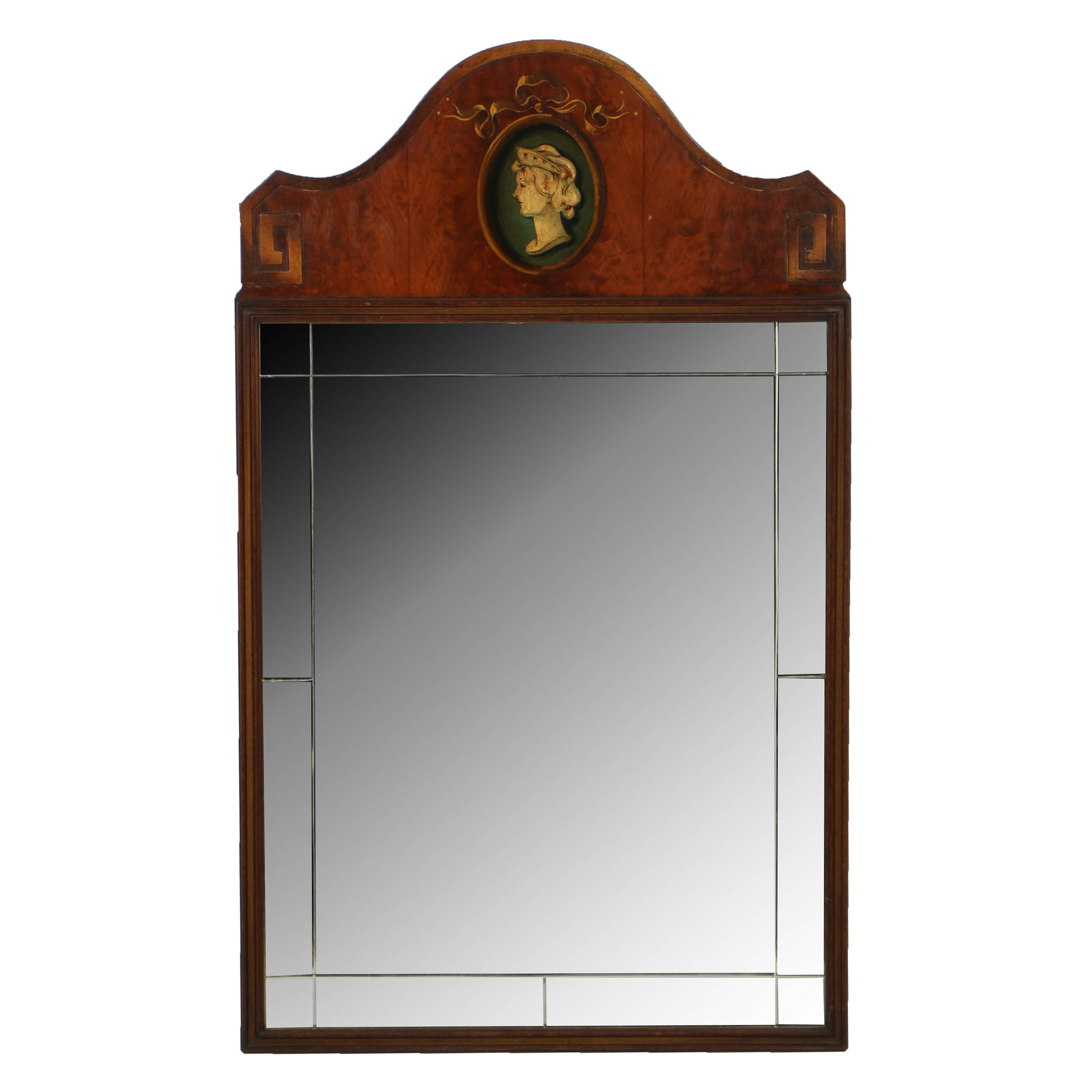 Vintage Neoclassical Style Wall Mirror by Bethlehem Furniture Company