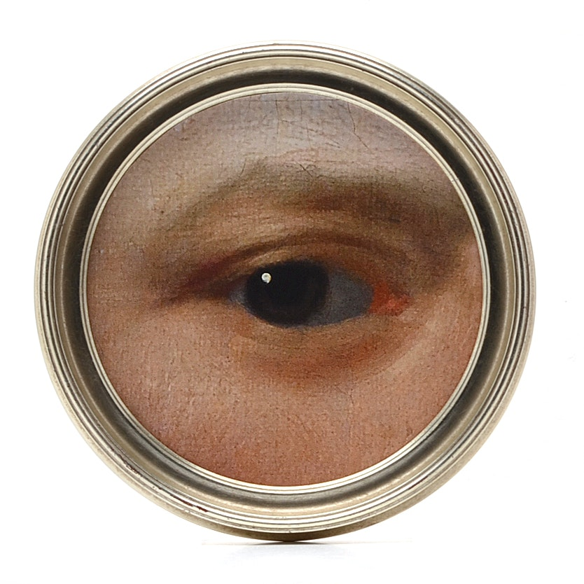 Giclée Print Of An Eye From An English Portrait Painting