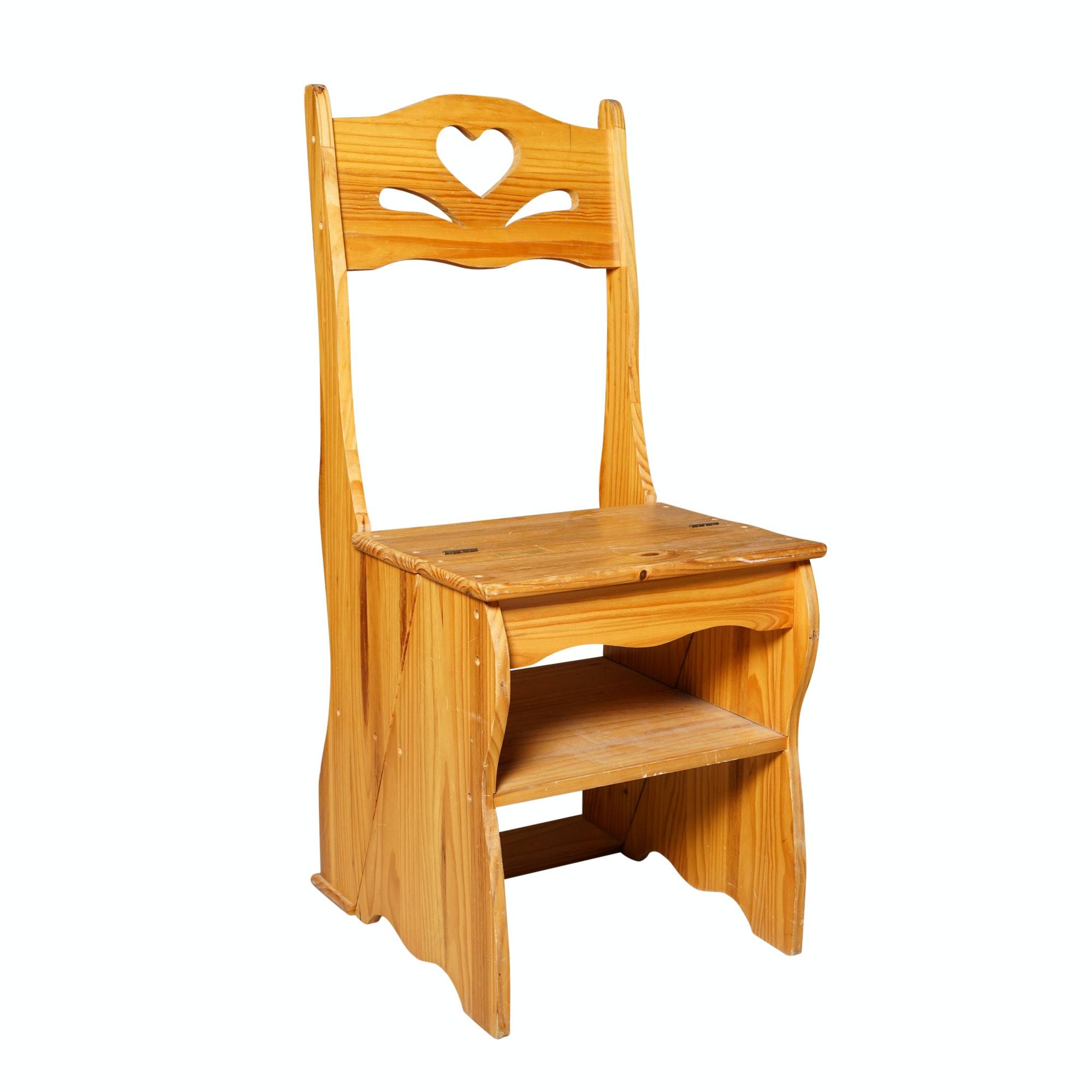 Side Chair Step Ladder