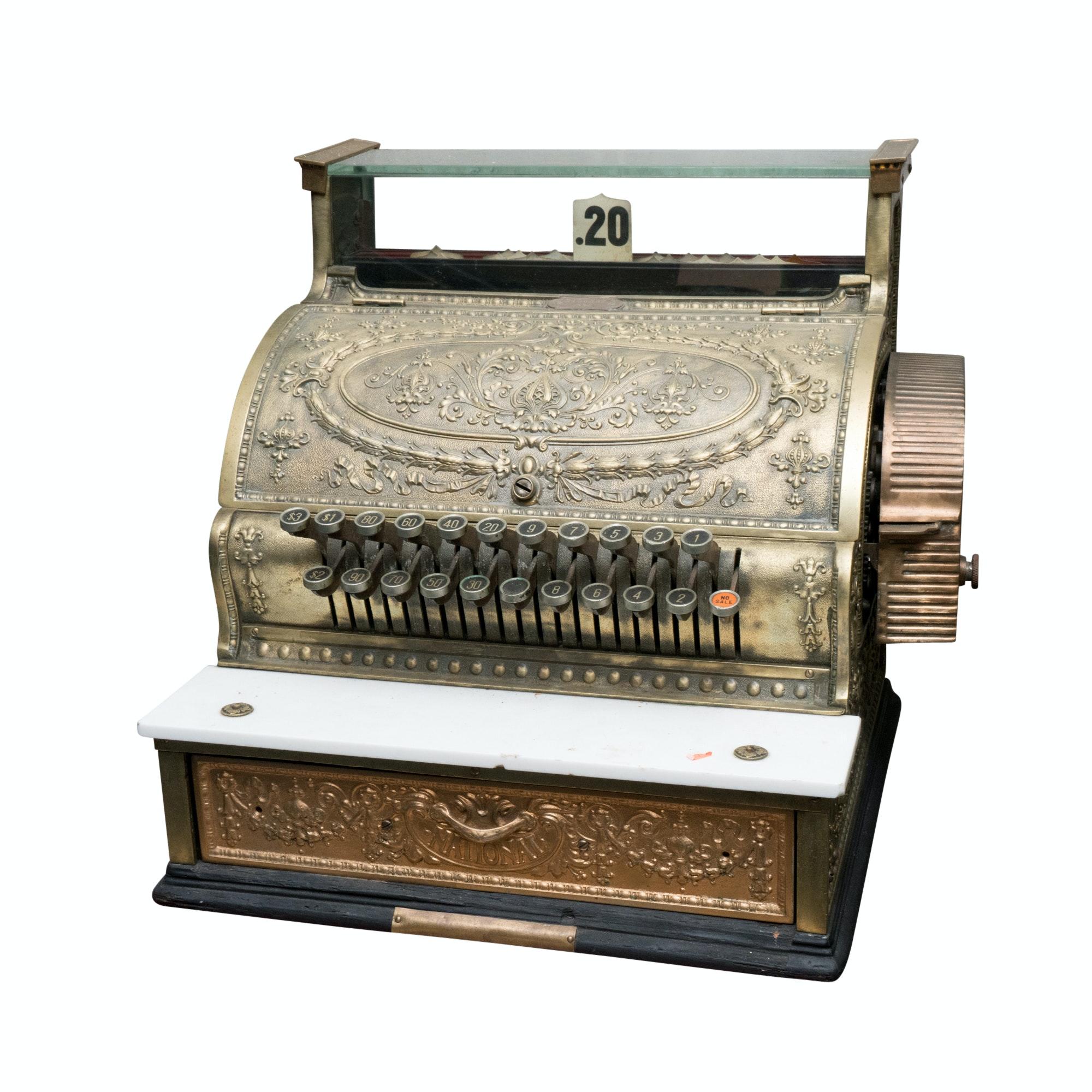 Antique 1916 National Cash Register Model 336