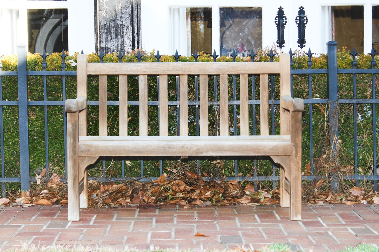 Teak Garden Bench by Country Casual