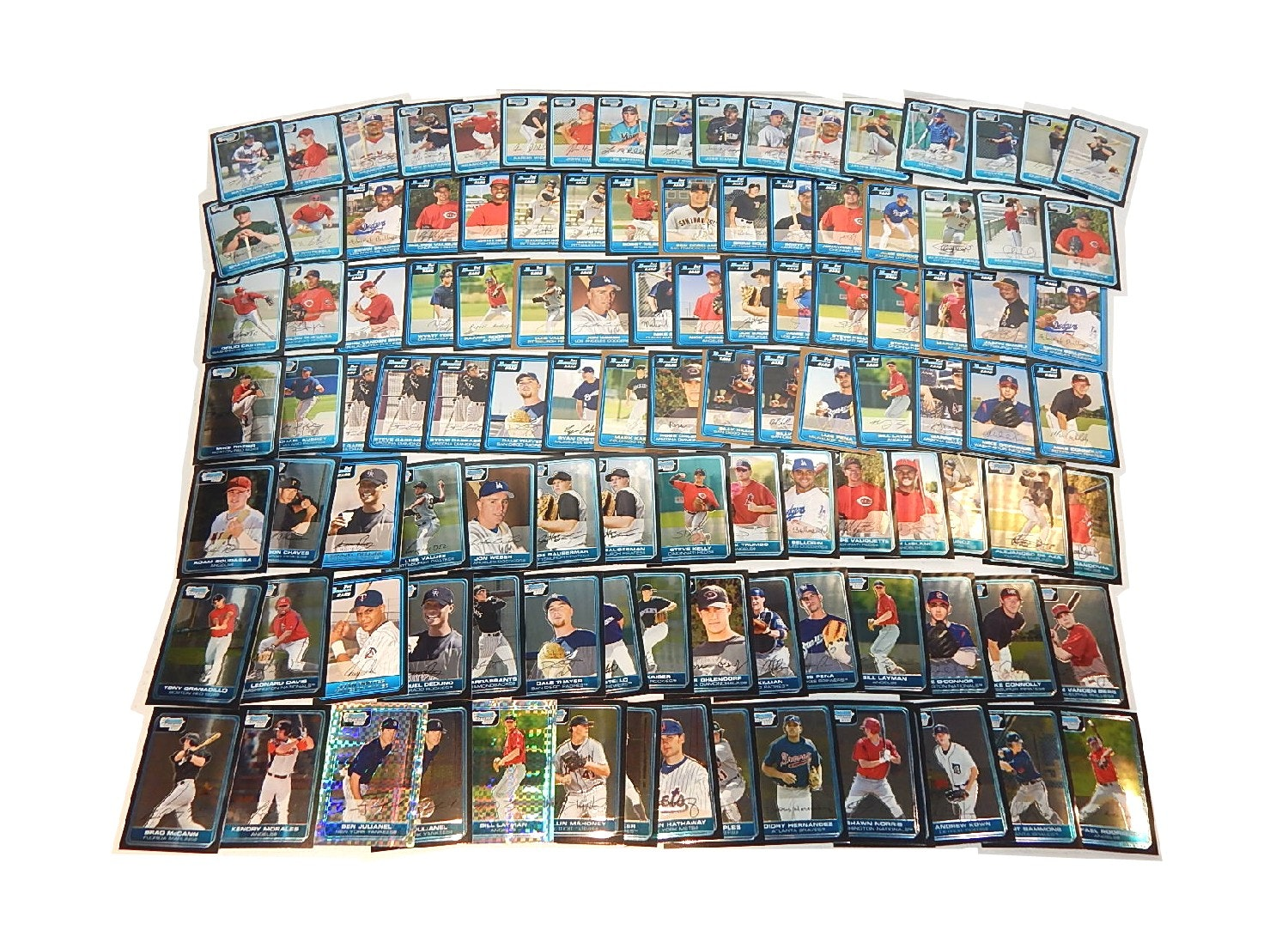 2006 Bowman and Bowman Chrome Rookie Baseball Card Collection