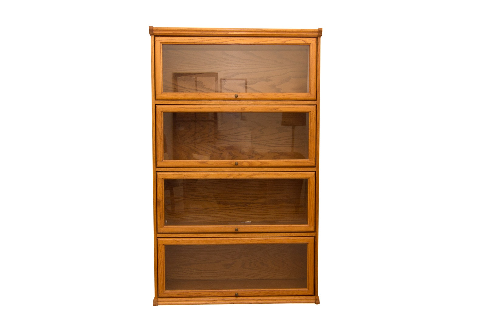Oak Barrister's Style Bookcase/Cabinet