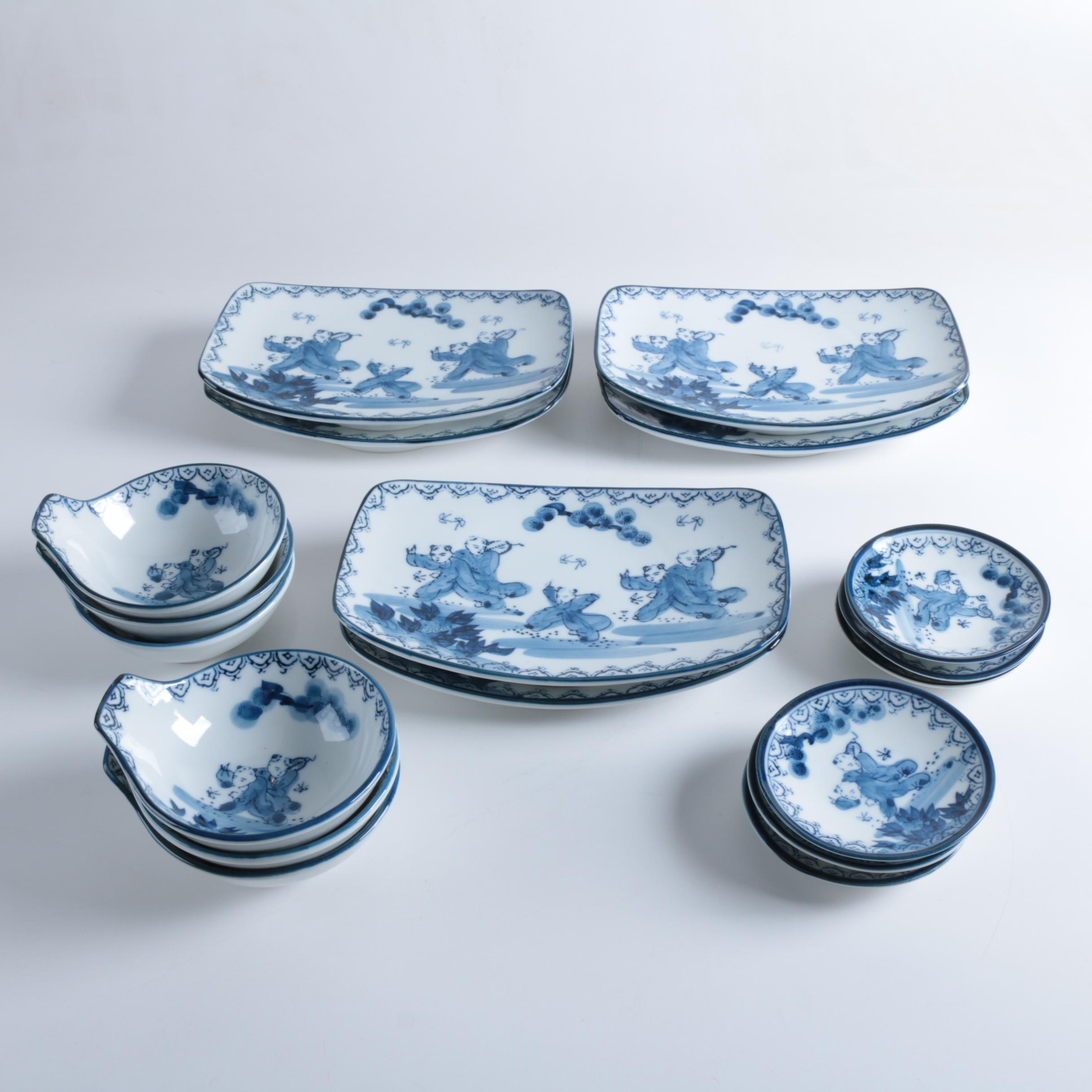 Contemporary Chinese Porcelain Tableware ... & Contemporary Chinese Porcelain Tableware : EBTH