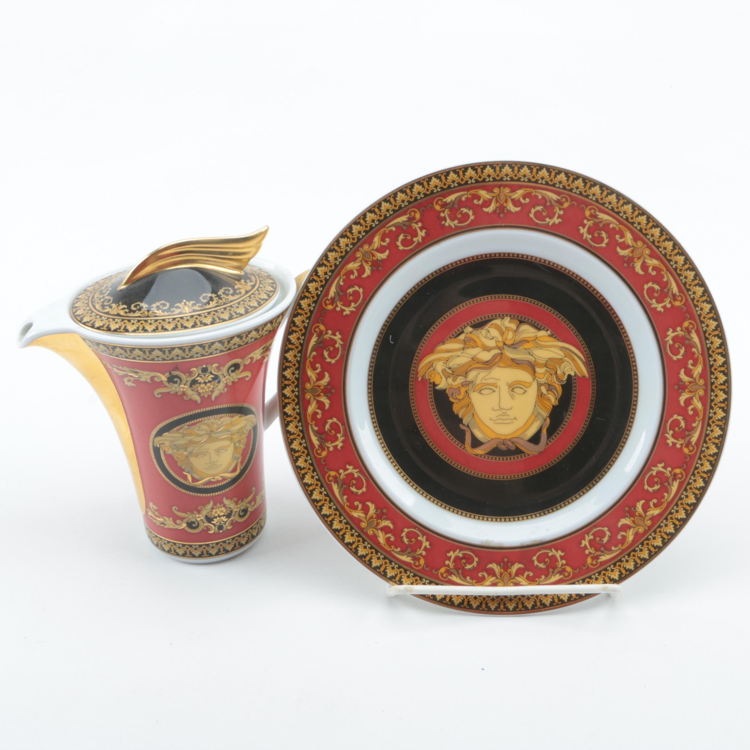 Versace  Medusa  Porcelain Tableware by Rosenthal ...  sc 1 st  EBTH.com & Versace