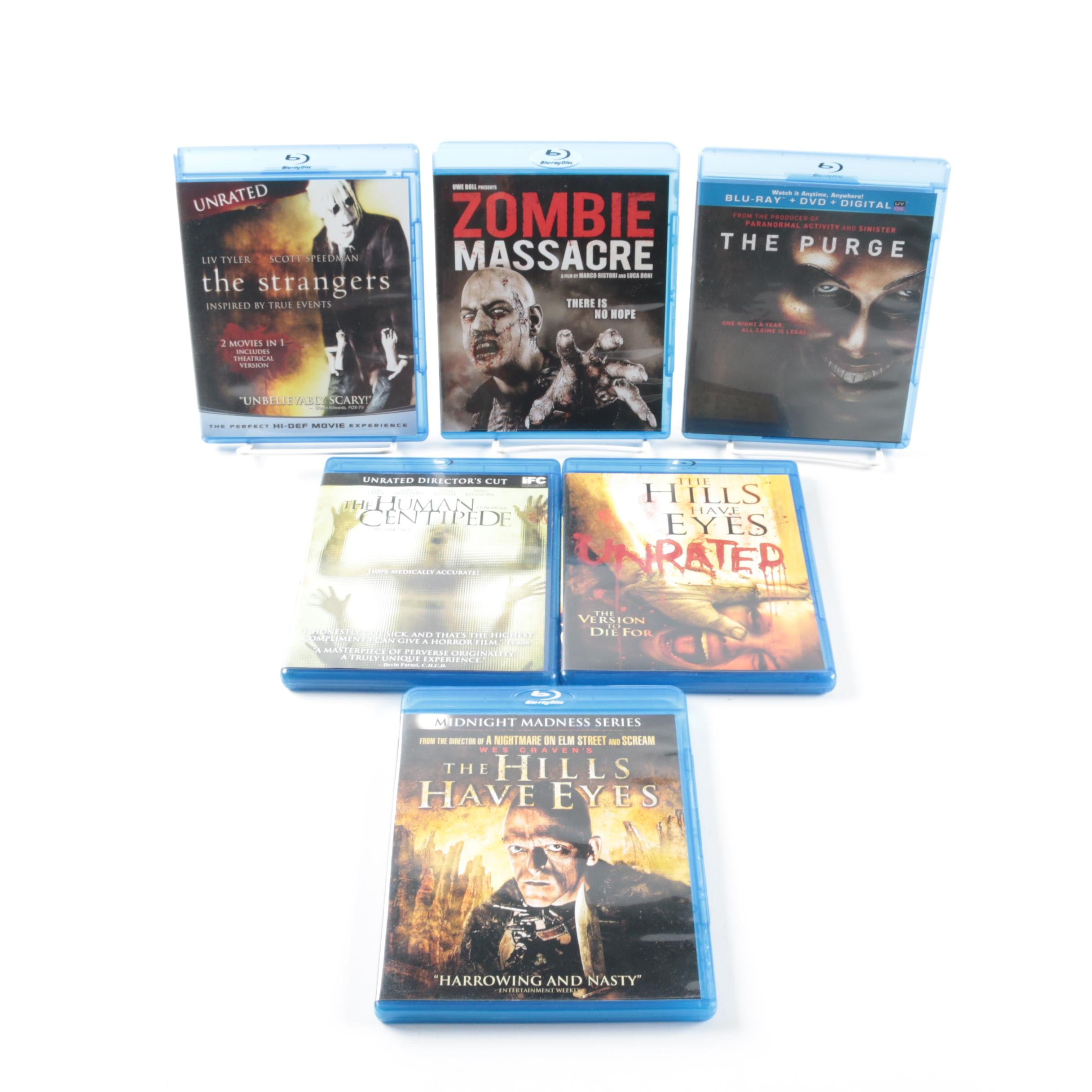 Collection of Six Blu-ray Disc Horror Films
