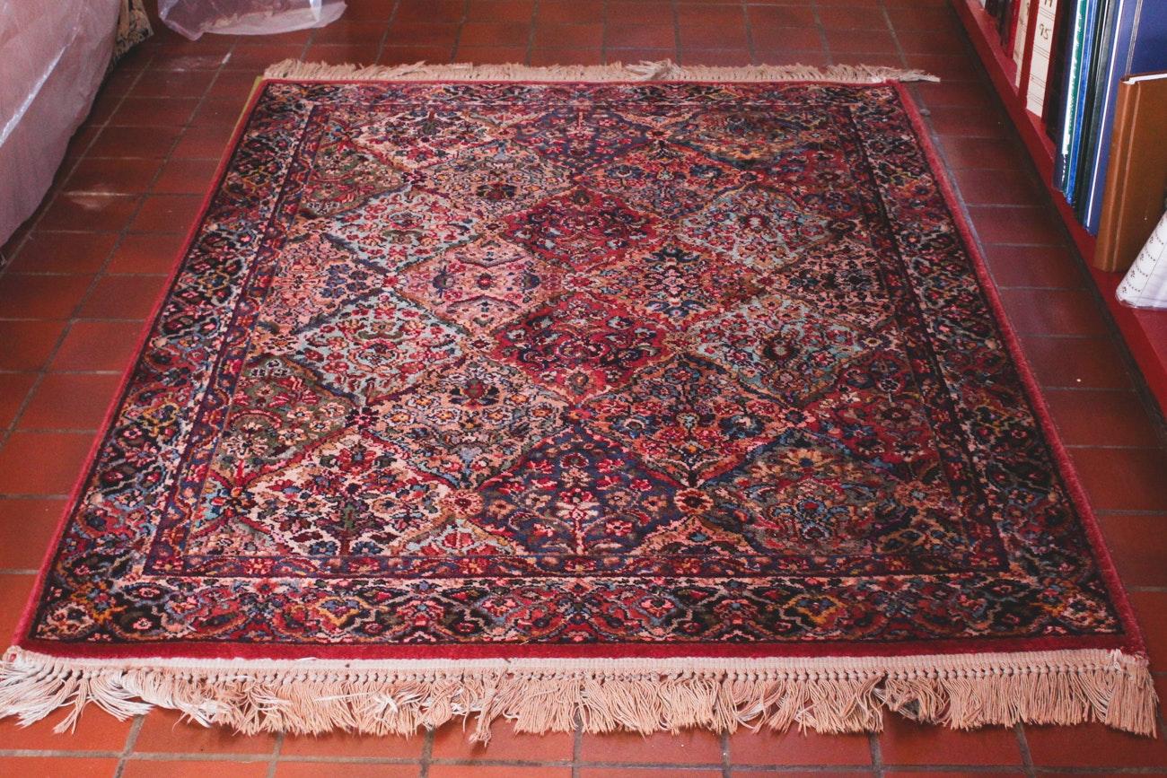 Small Machine-Made Wool Area Rug by Karastan