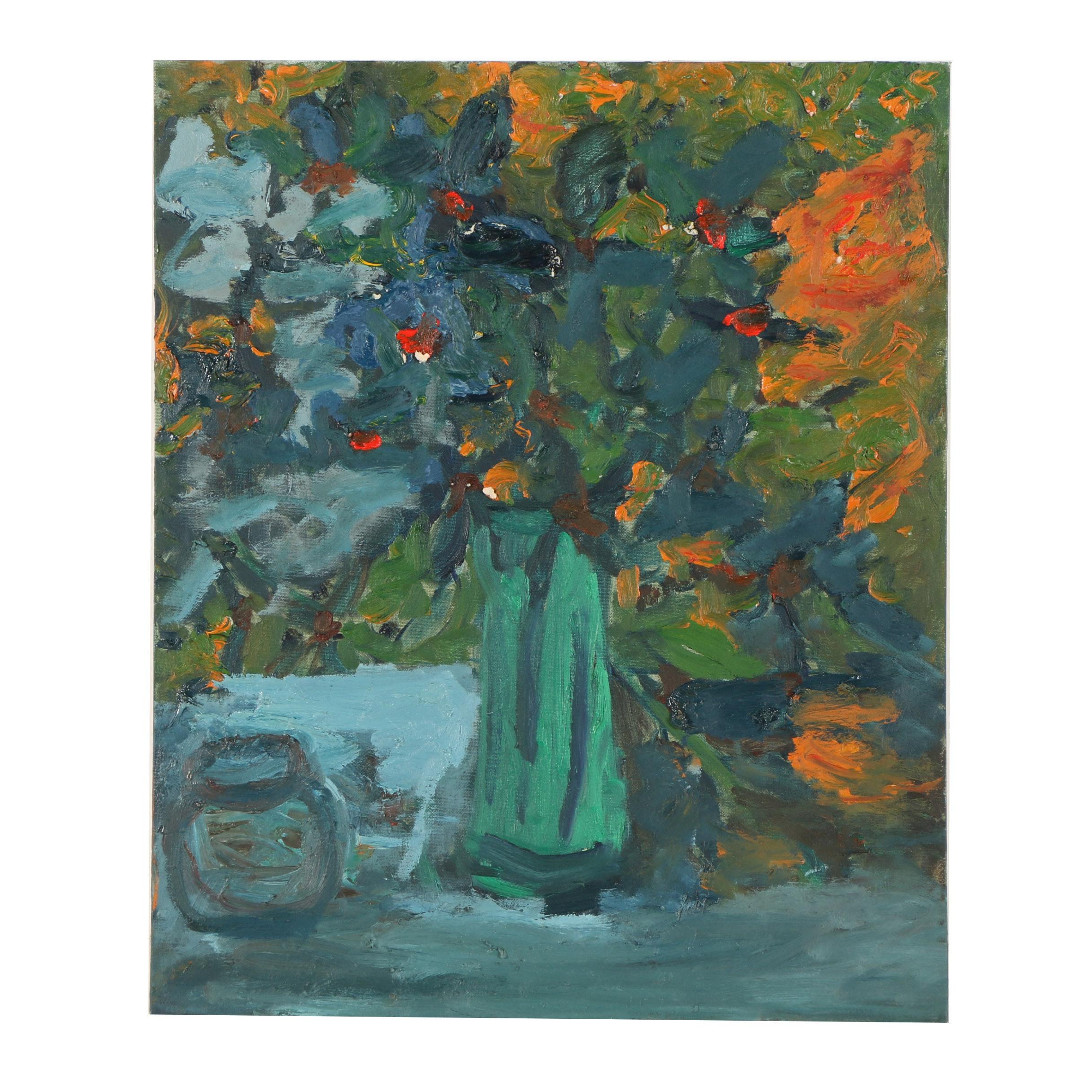Louis Papp Oil Painting