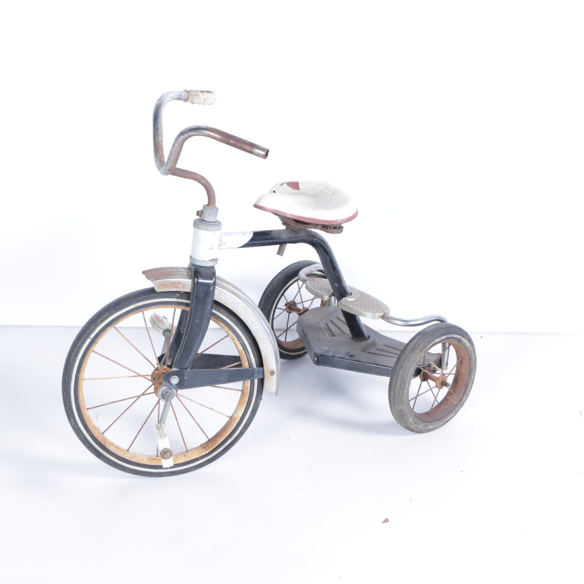 Children's Vintage Troxel Tricycle