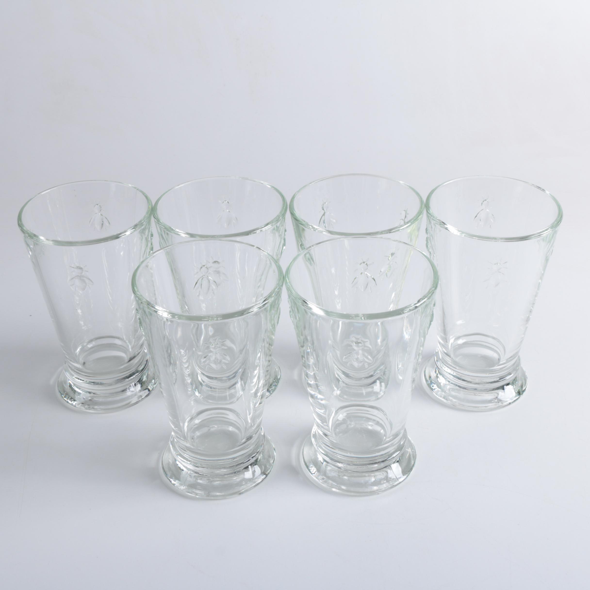 "La Rochere ""Bee"" Iced Tea Glasses"