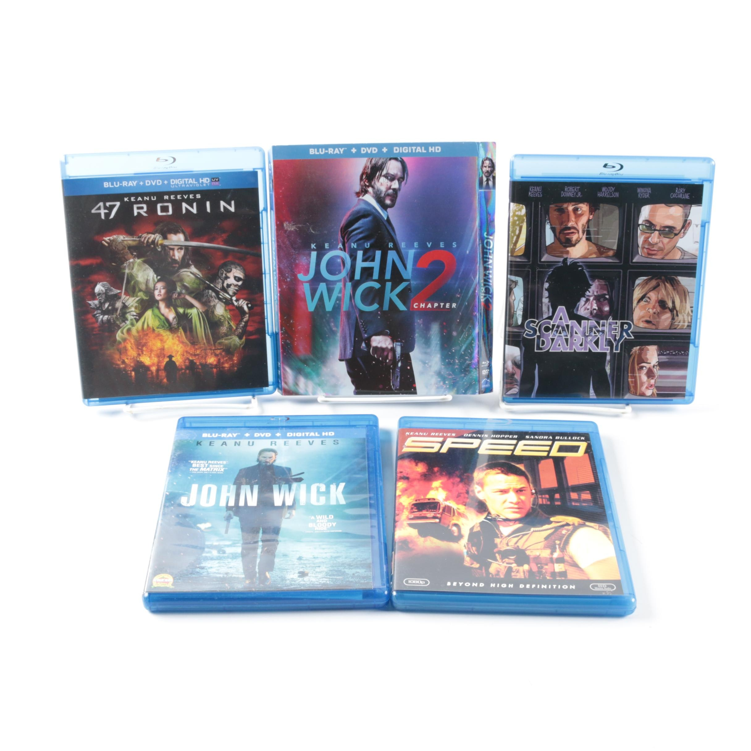 Keanu Reeves Movies on DVD and Blu-Ray