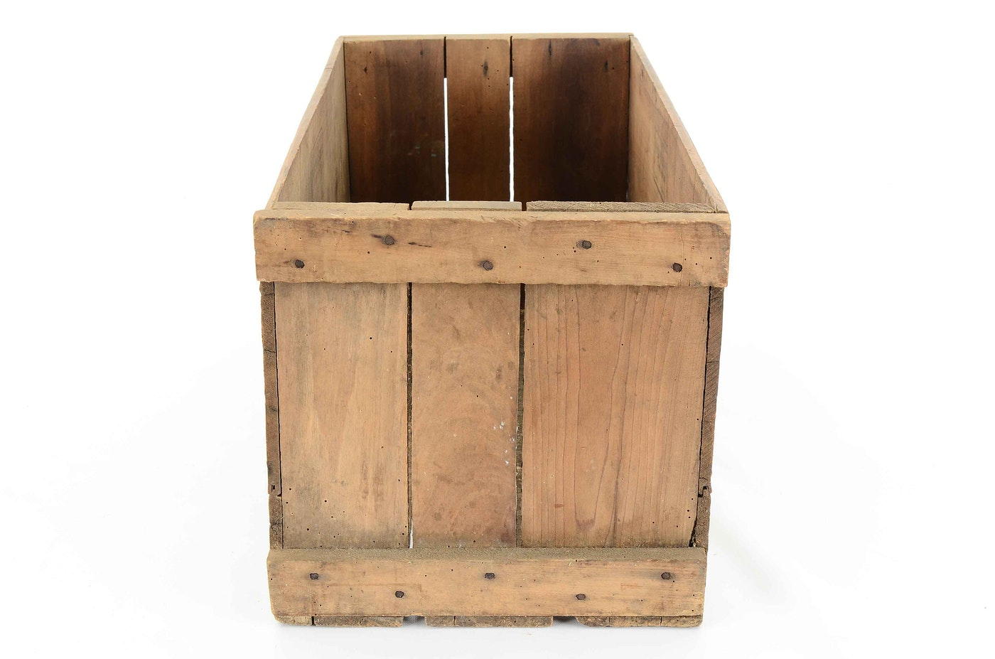 Vintage Cincinnati Wooden Crate   EBTH
